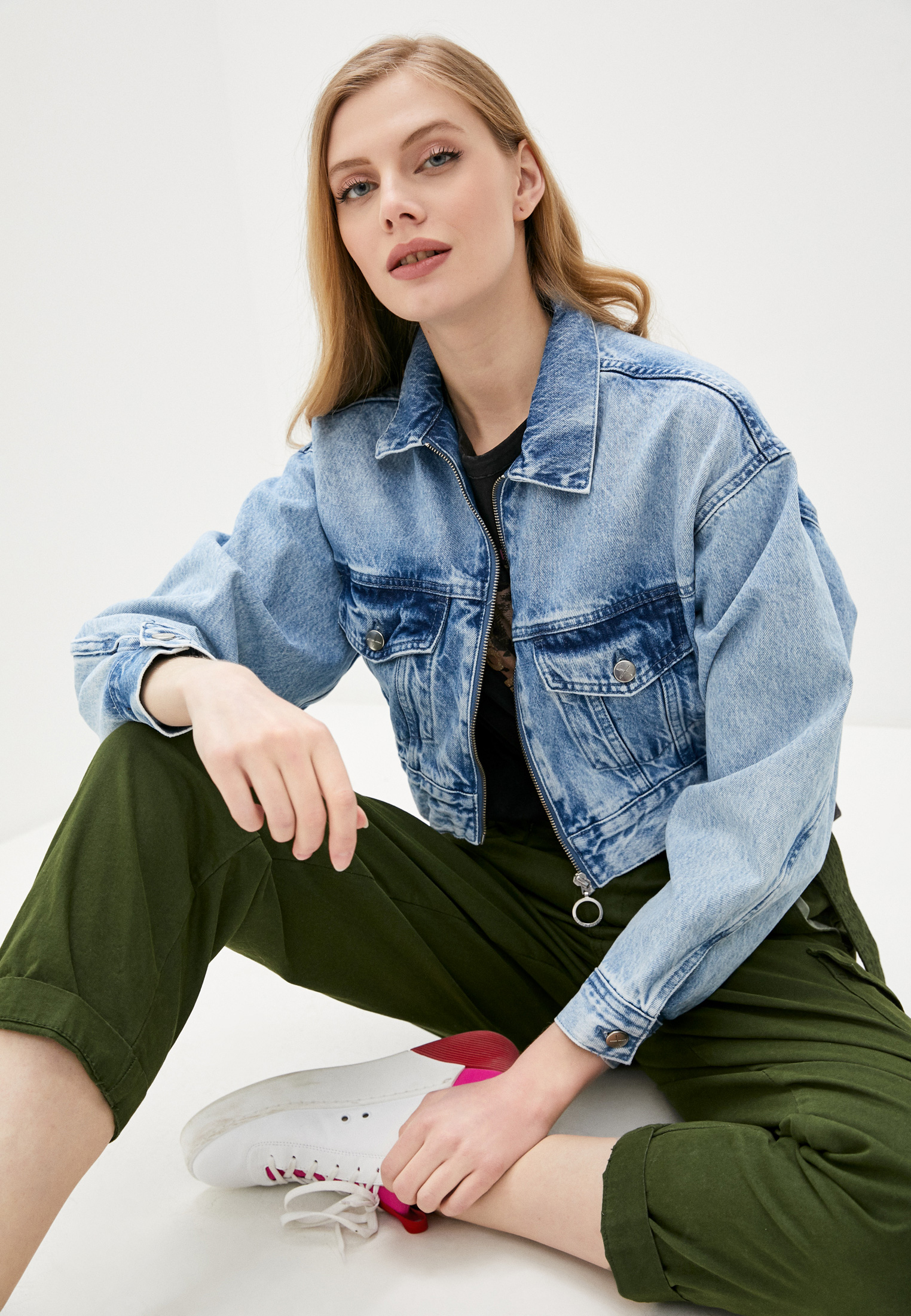 Джинсовая куртка Pepe Jeans (Пепе Джинс) PL401819