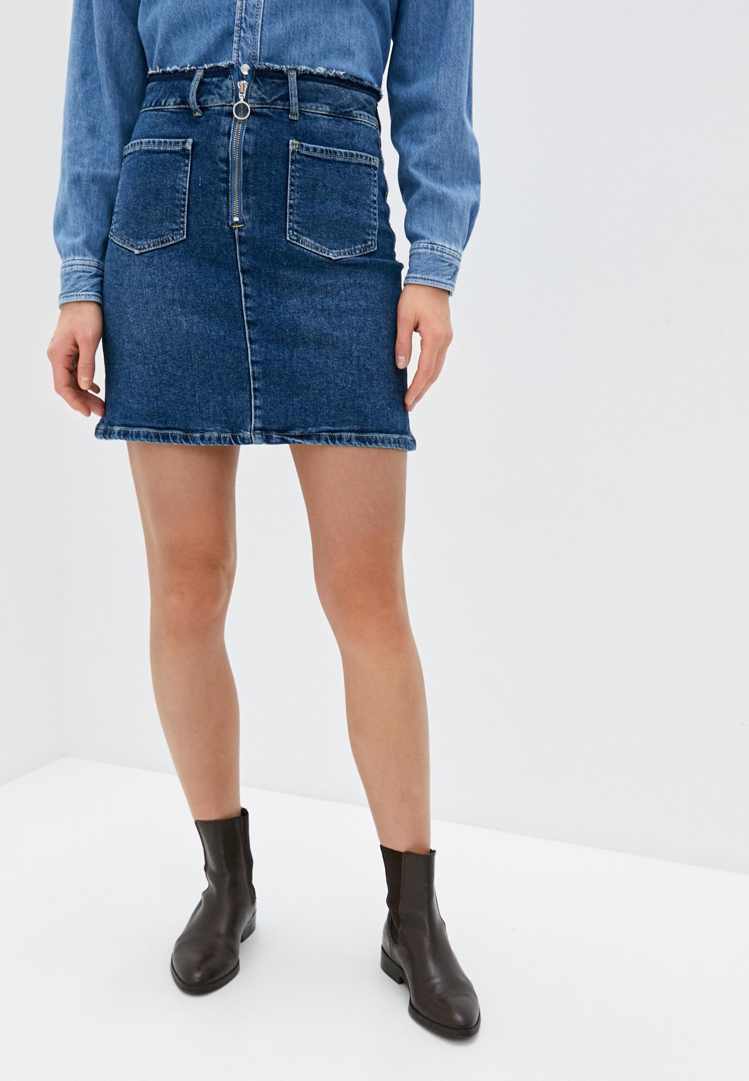 Джинсовая юбка Pepe Jeans (Пепе Джинс) PL900855HA9