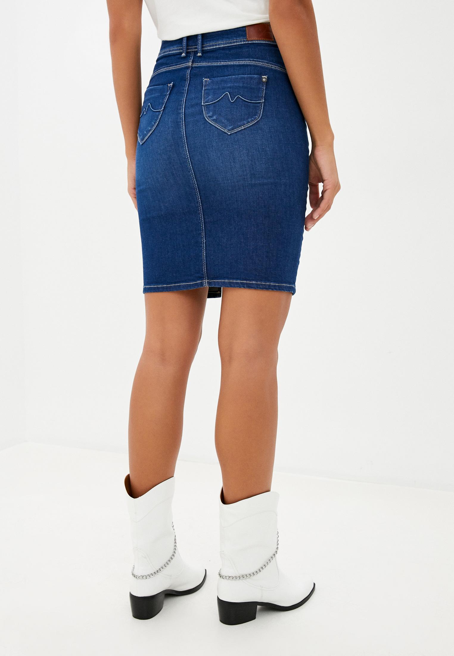 Джинсовая юбка Pepe Jeans (Пепе Джинс) PL900443HE1