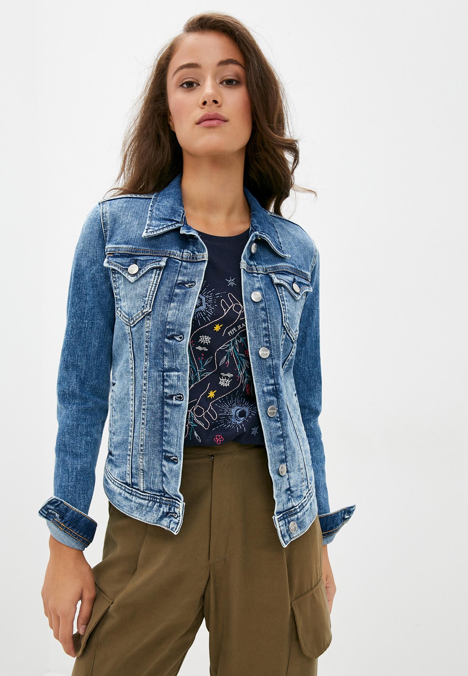 Джинсовая куртка Pepe Jeans (Пепе Джинс) PL400755HE0