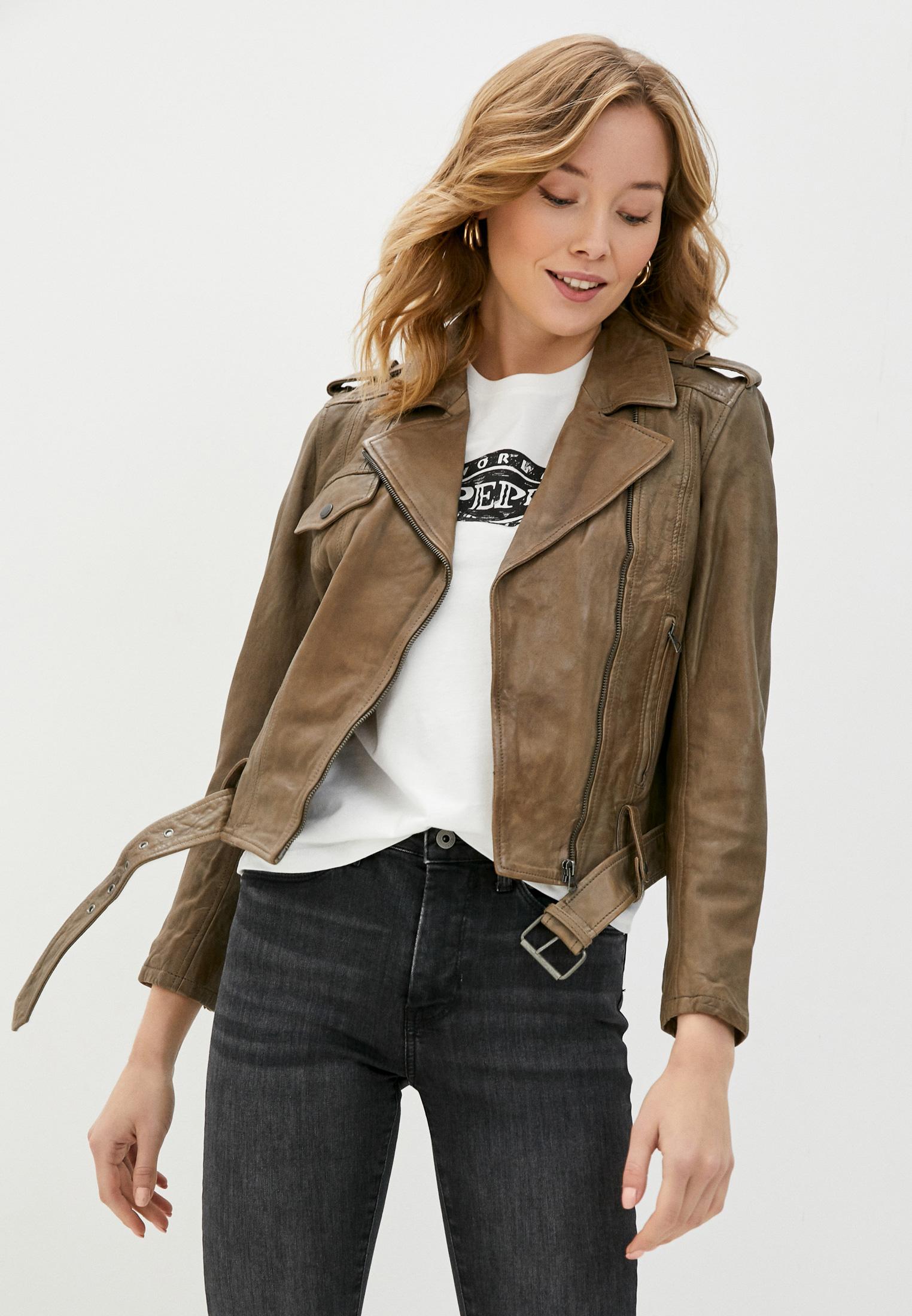 Кожаная куртка Pepe Jeans (Пепе Джинс) PL401836
