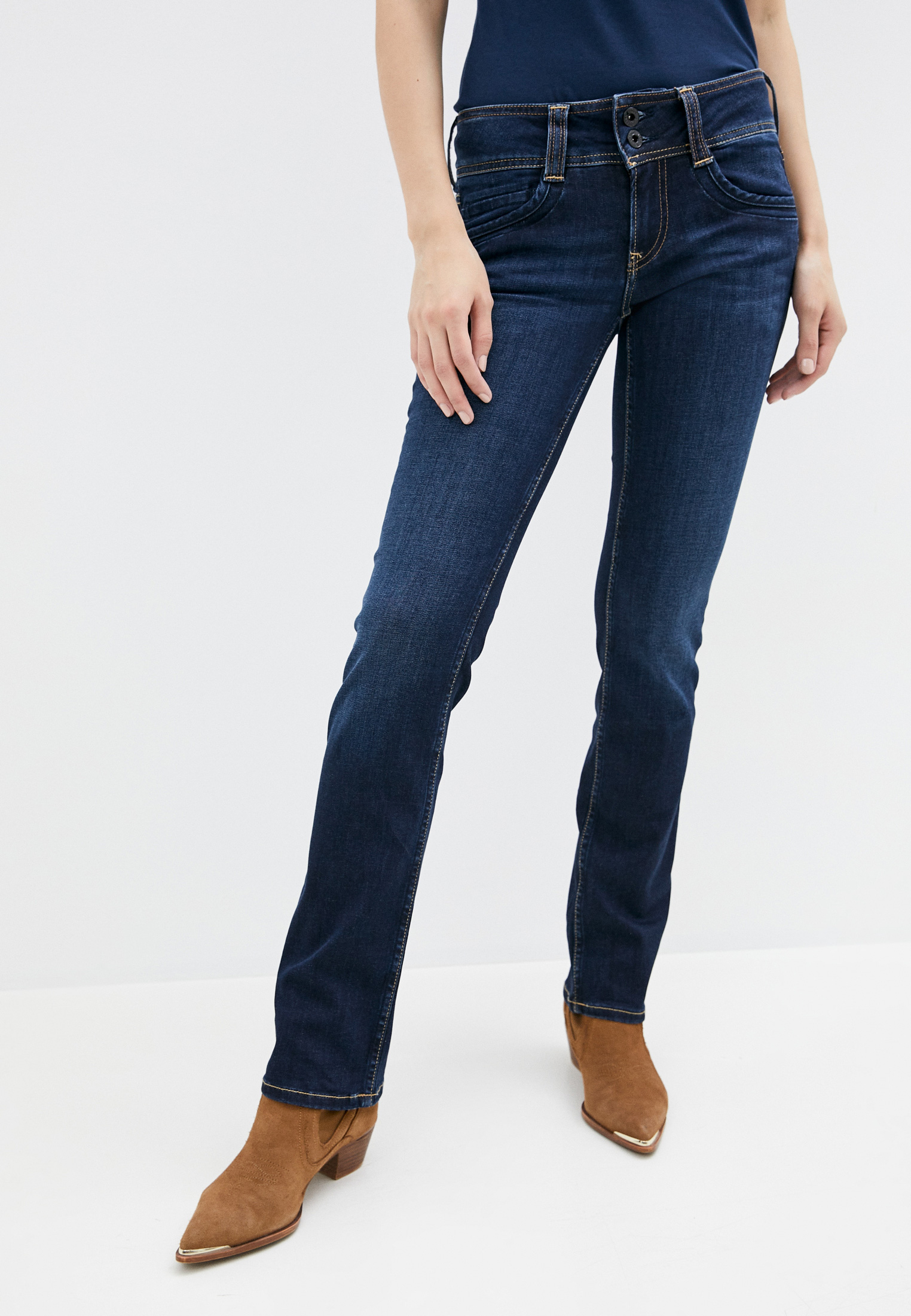 Прямые джинсы Pepe Jeans (Пепе Джинс) PL201157H06: изображение 1