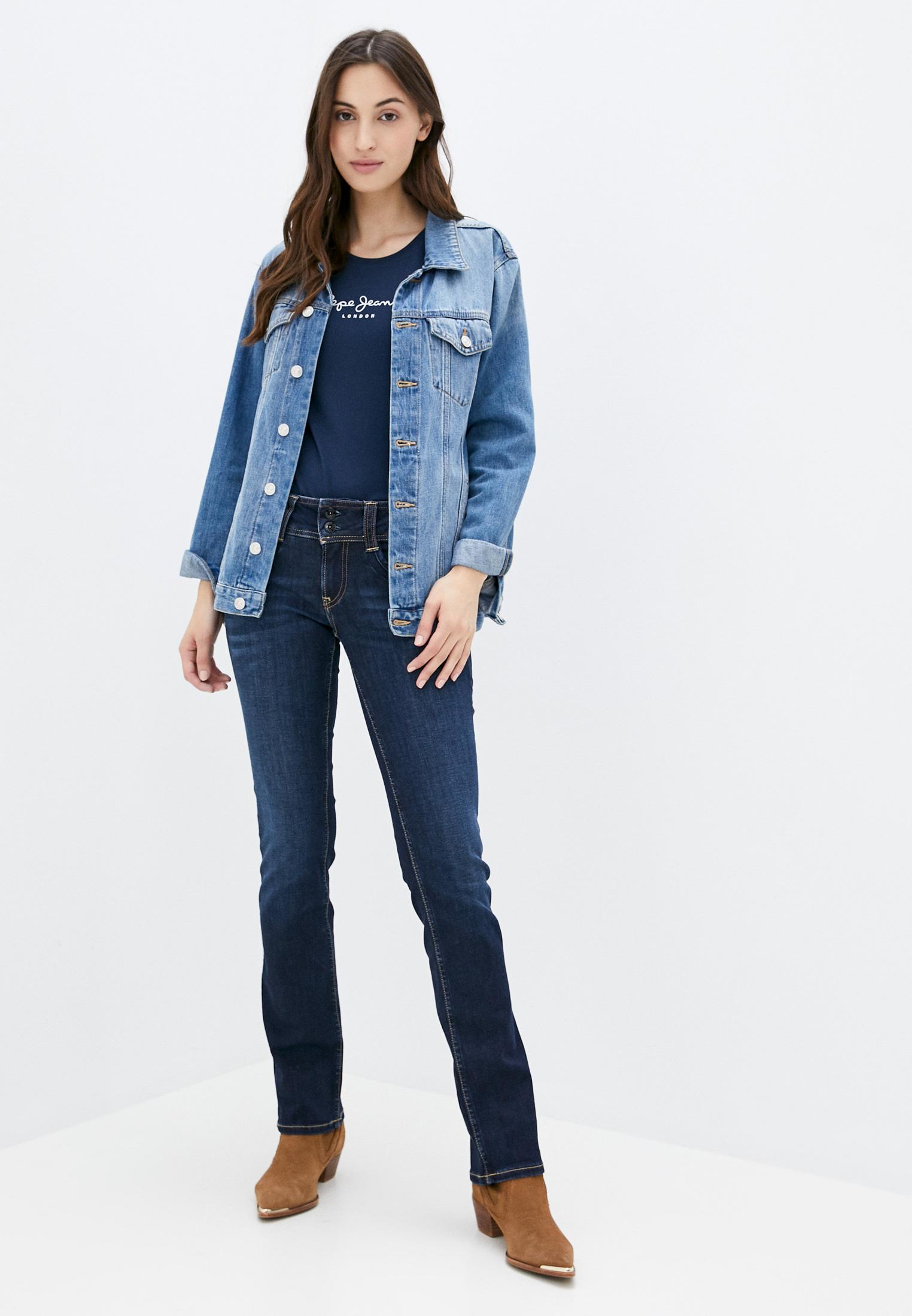 Прямые джинсы Pepe Jeans (Пепе Джинс) PL201157H06: изображение 2