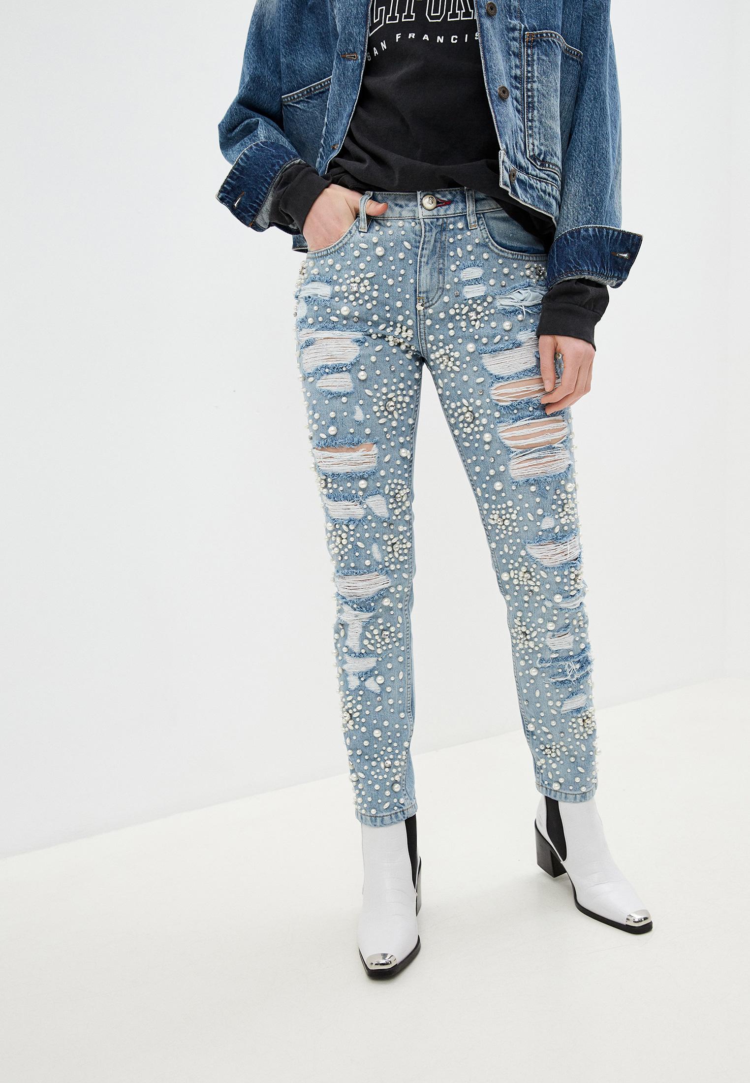 Зауженные джинсы Philipp Plein A17C WDT0462 PDE004N