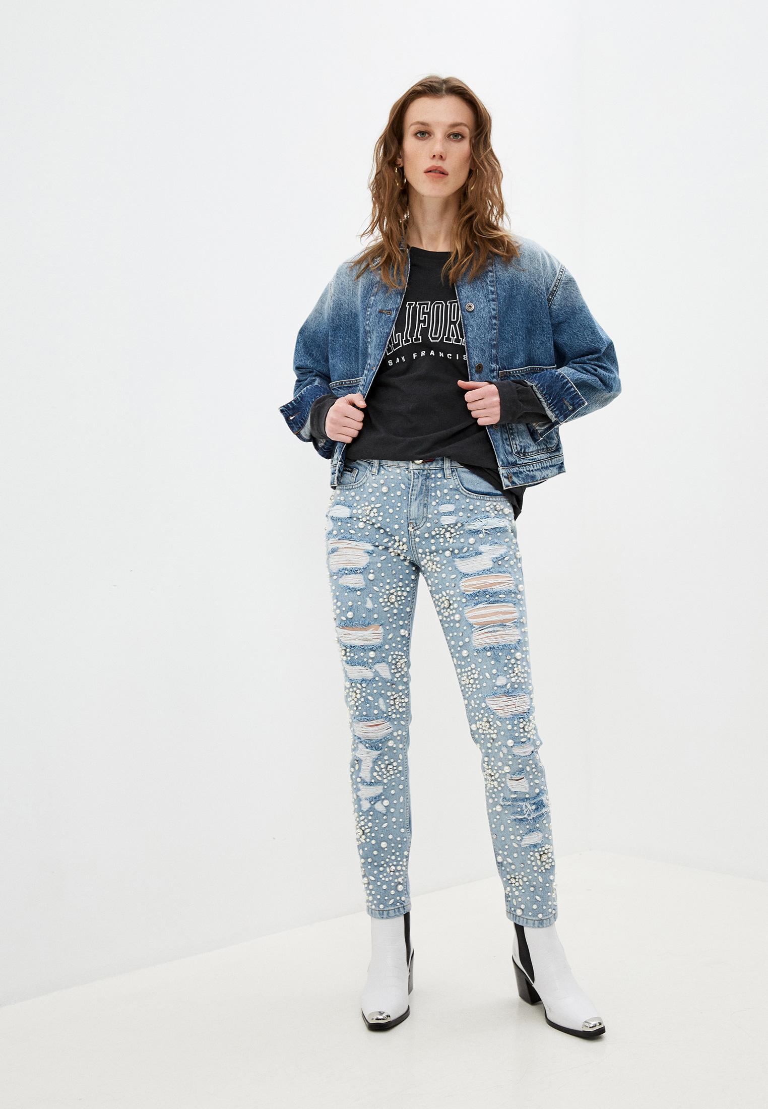 Зауженные джинсы Philipp Plein A17C WDT0462 PDE004N: изображение 3