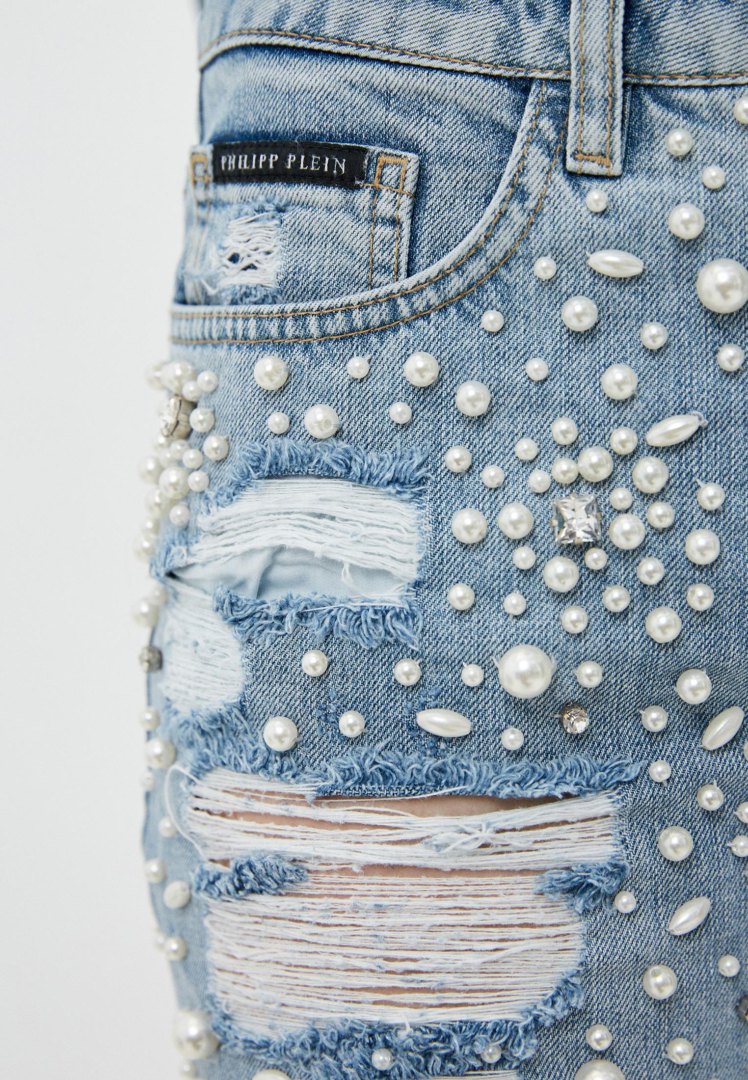 Зауженные джинсы Philipp Plein A17C WDT0462 PDE004N: изображение 5
