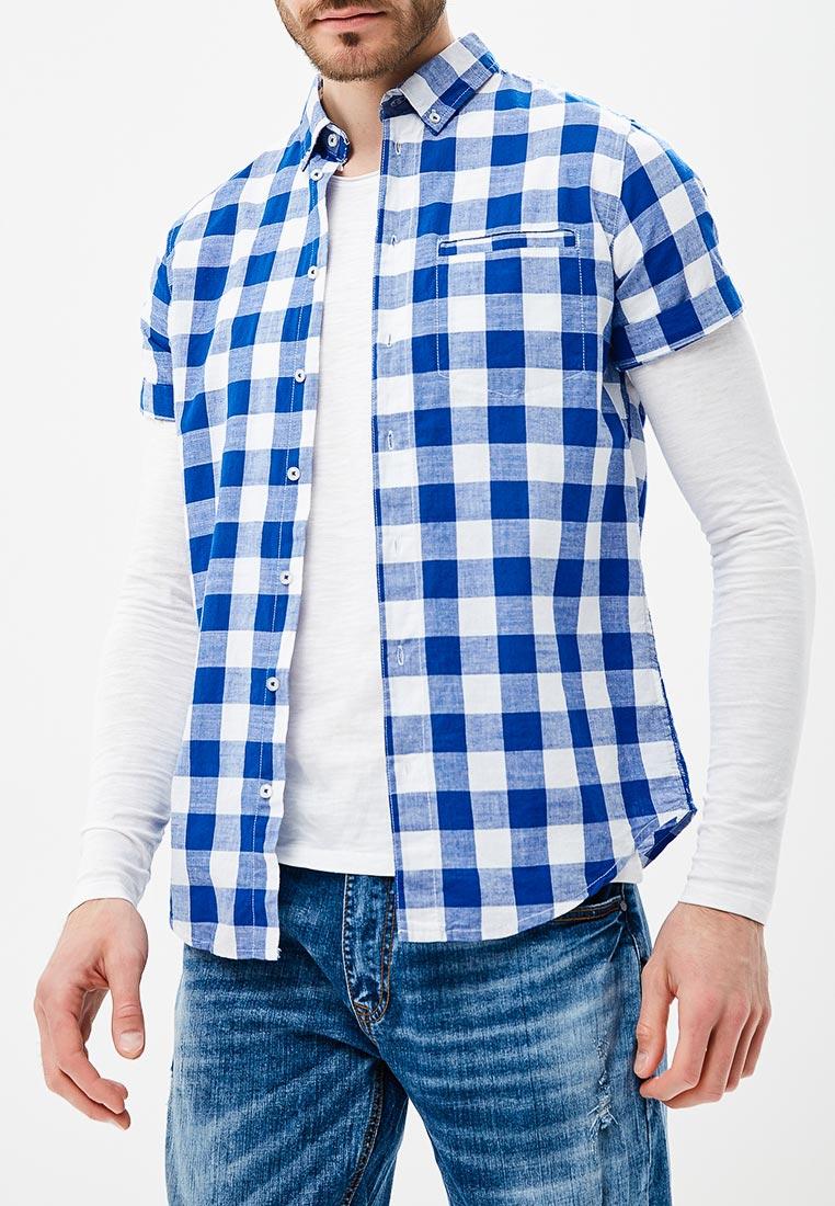 Рубашка с коротким рукавом Piazza Italia 96438