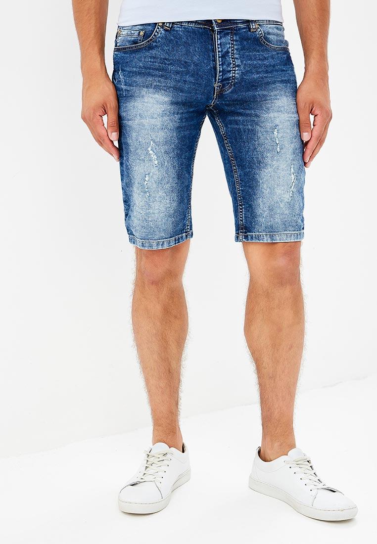 Мужские джинсовые шорты Piazza Italia (Пиазза Италия) 96540