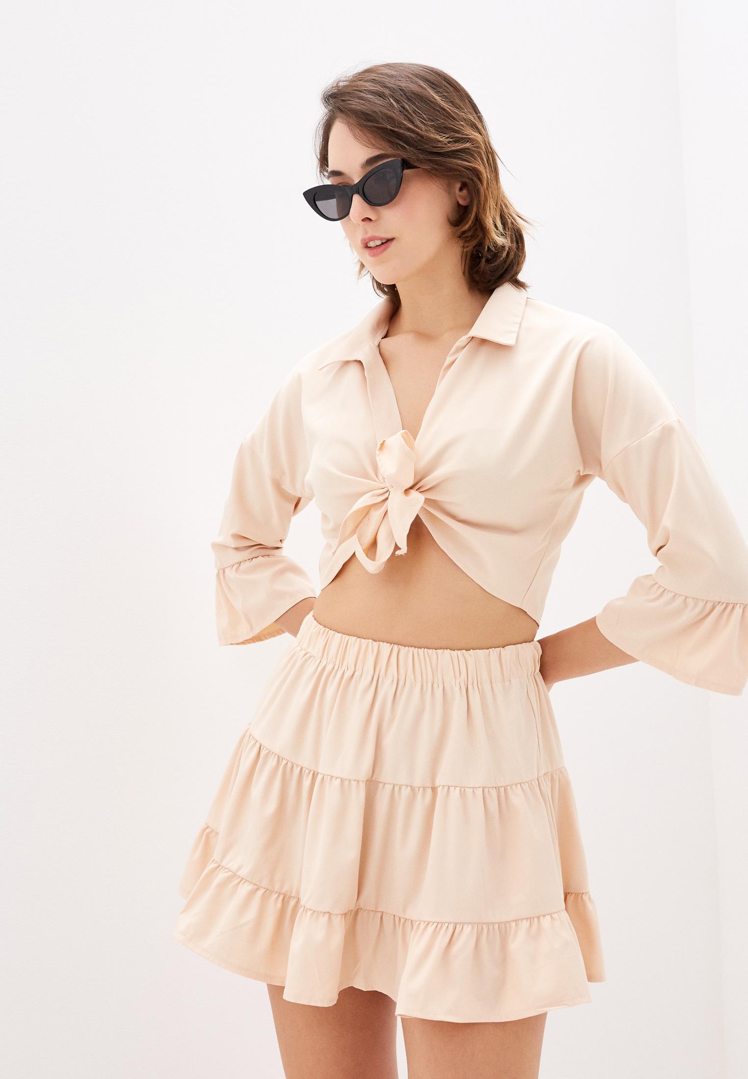 Костюм с юбкой Pink Summer PSS21-53-3