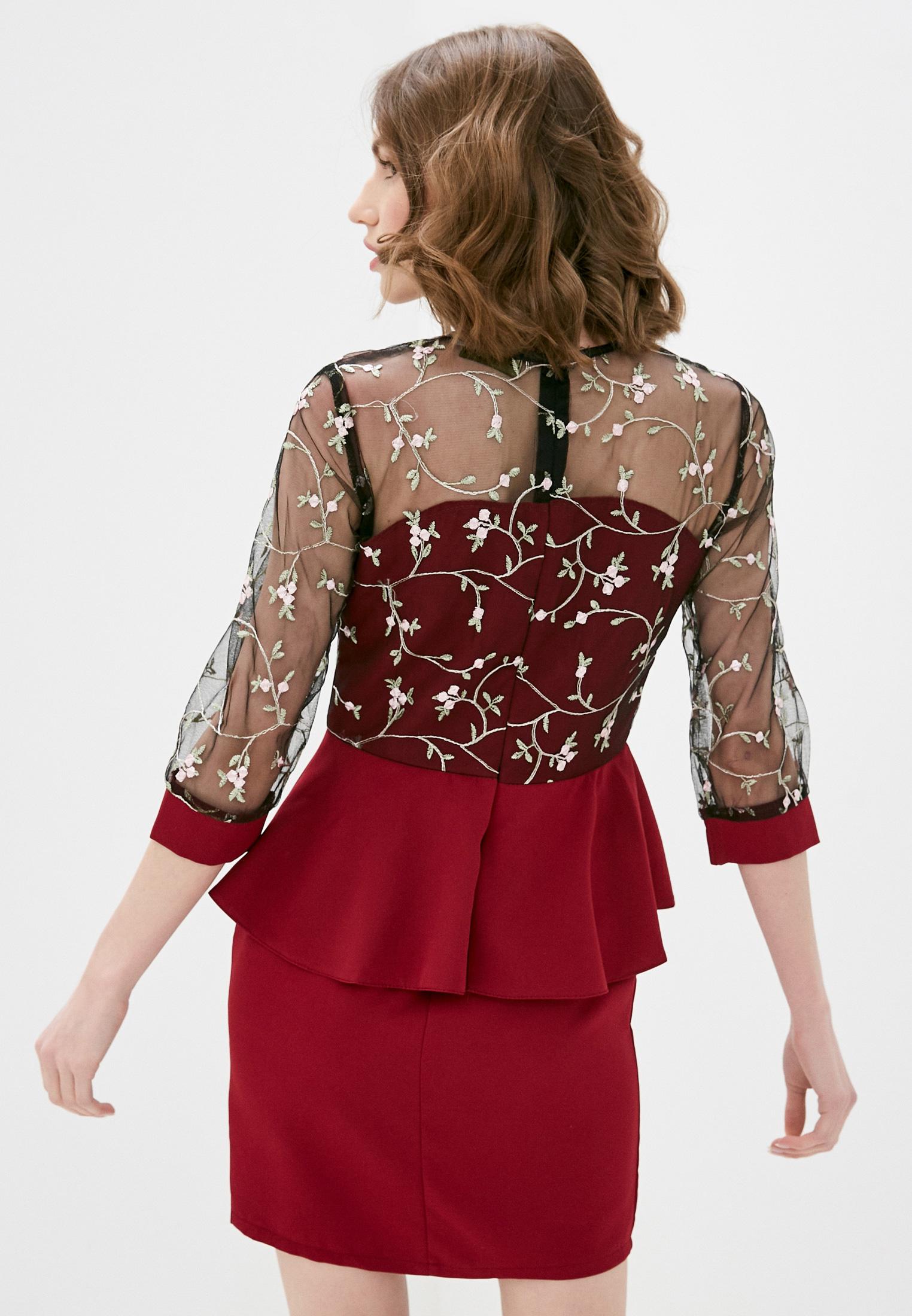 Вечернее / коктейльное платье Pink Summer PS2125-26: изображение 3