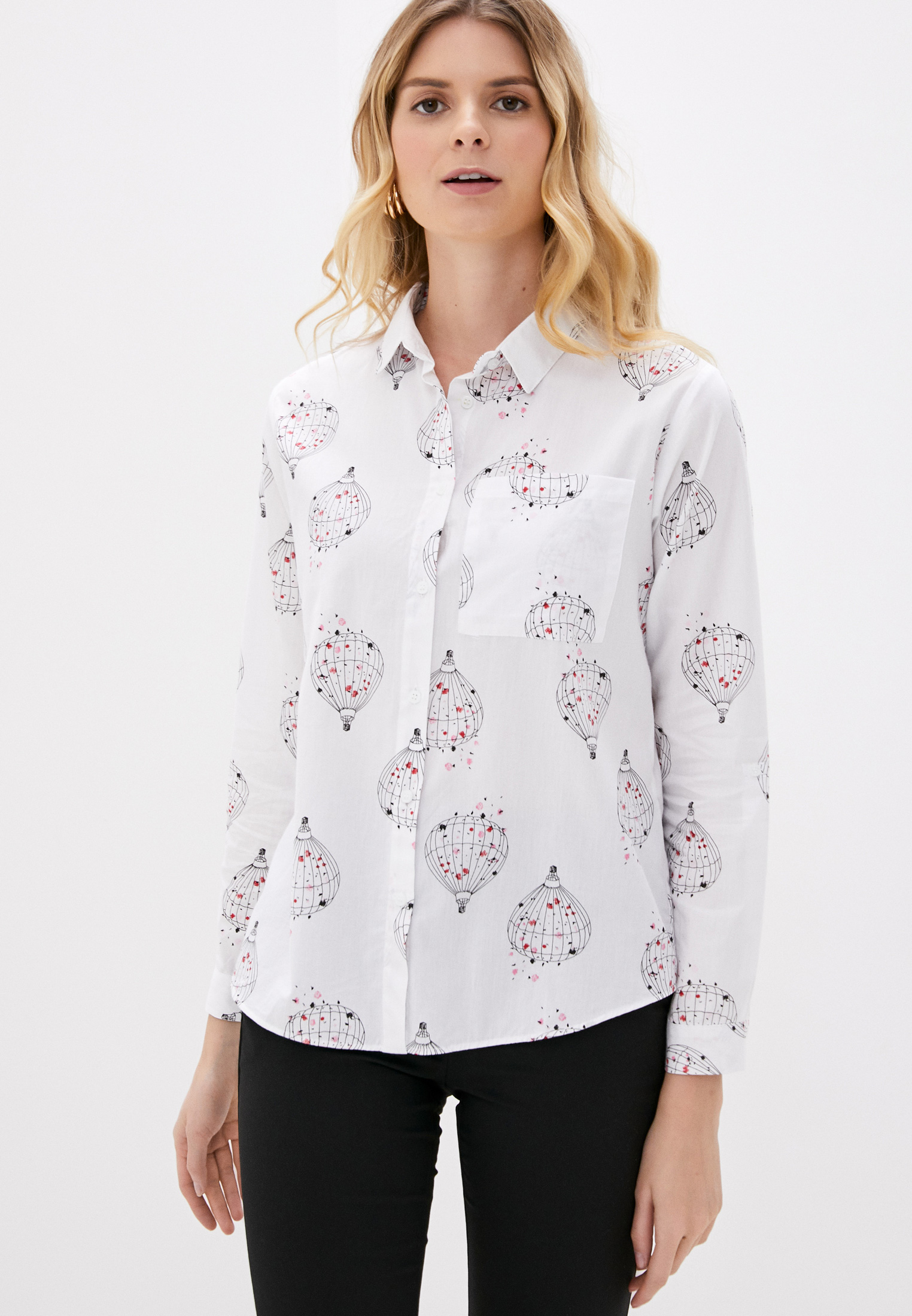 Женские рубашки с длинным рукавом Pinkkarrot 200438