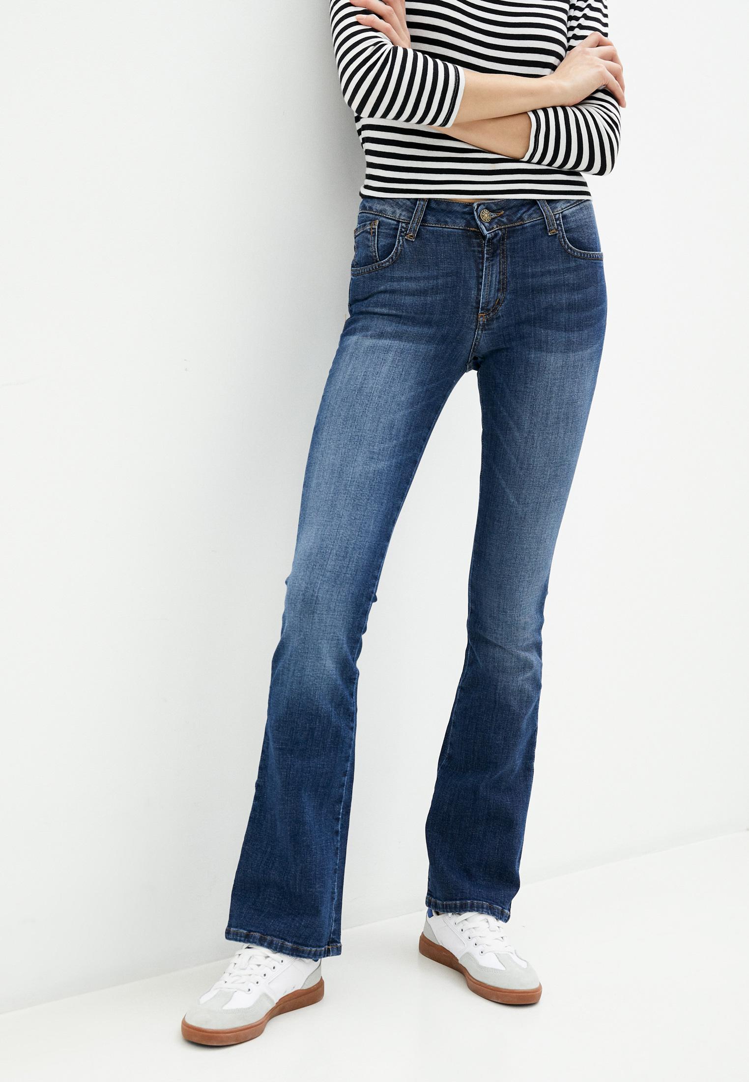 Широкие и расклешенные джинсы Pinkkarrot P200902