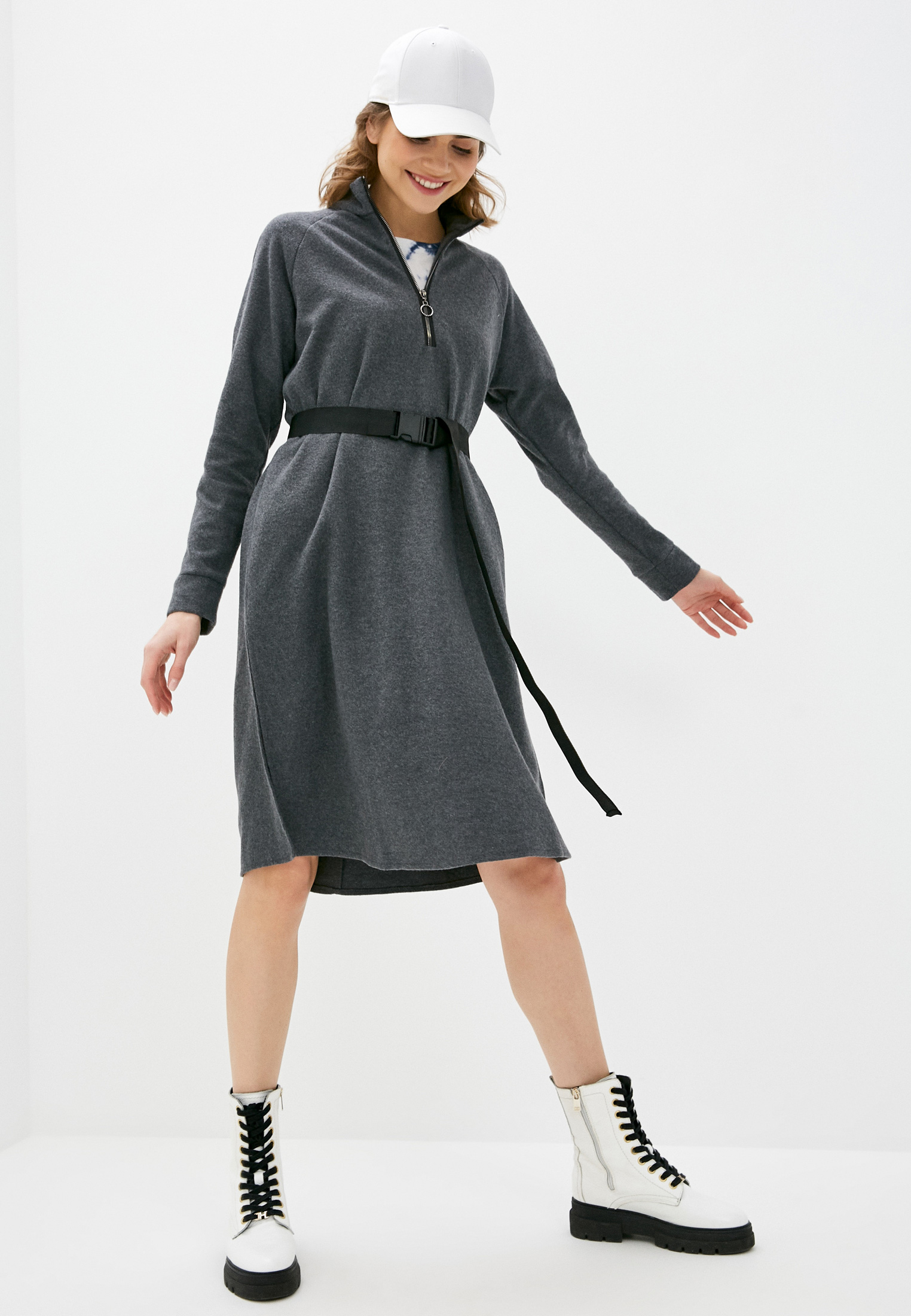 Вязаное платье Pinkkarrot 302110: изображение 2