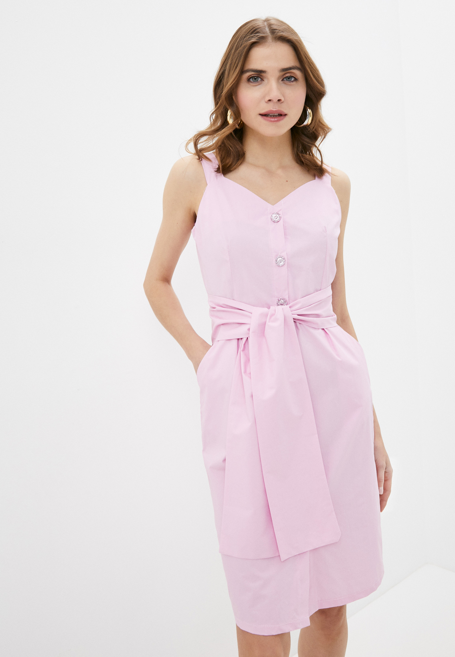 Женские платья-сарафаны Pink Orange POSS20-98-2