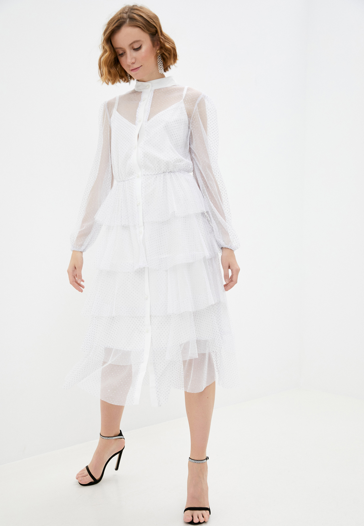 Вечернее / коктейльное платье Pink Orange PO21-142