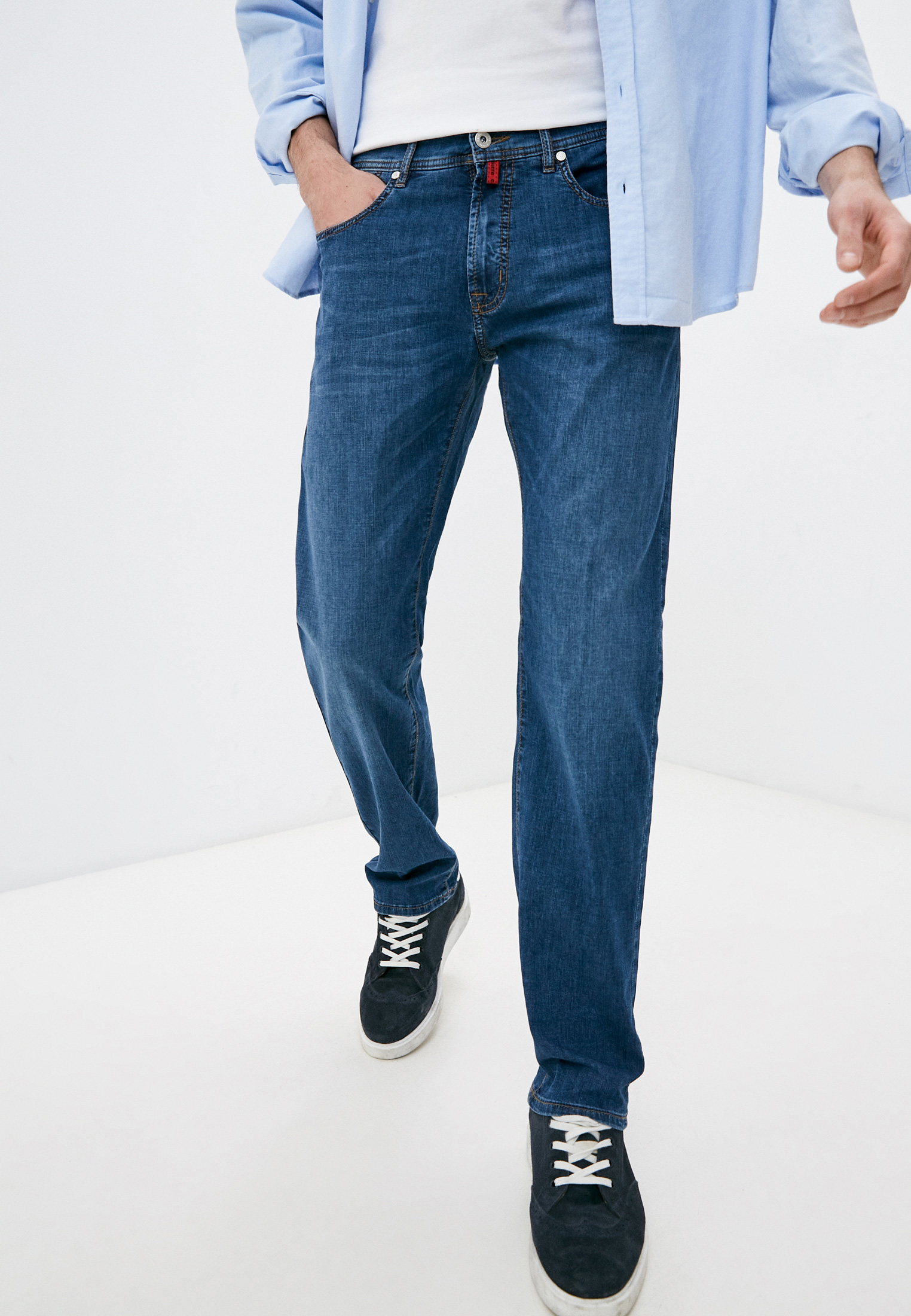 Мужские прямые джинсы Pierre Cardin (Пьер Кардин) 03091/919/07330/58