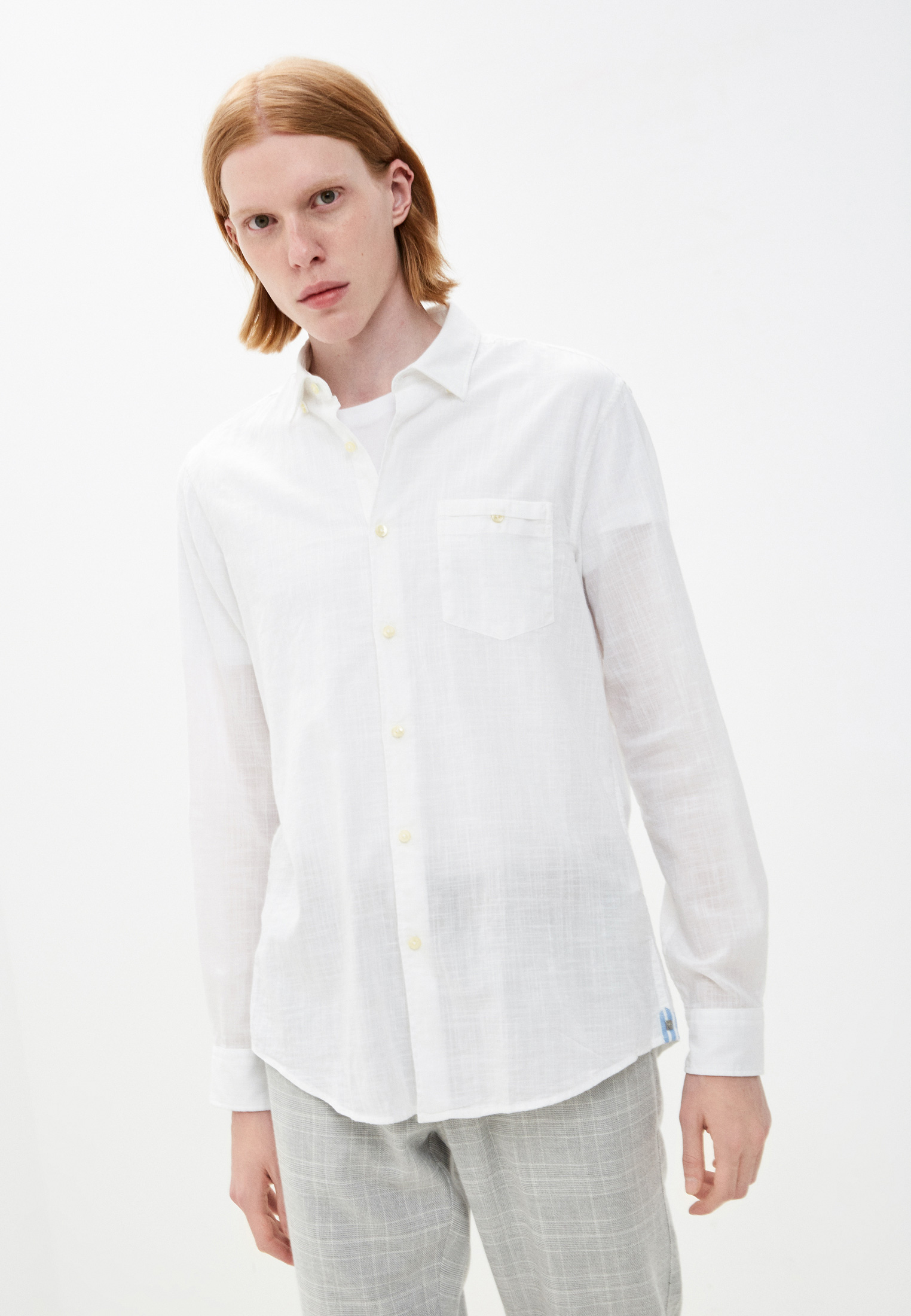 Рубашка с длинным рукавом Pierre Cardin (Пьер Кардин) 05888/000/27175/9000
