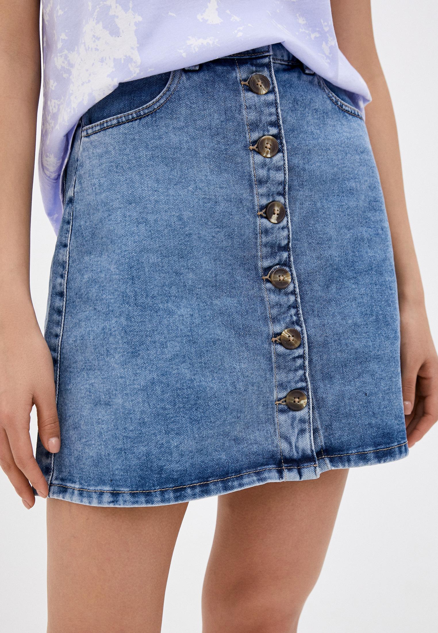 Джинсовая юбка Pieces 17097384