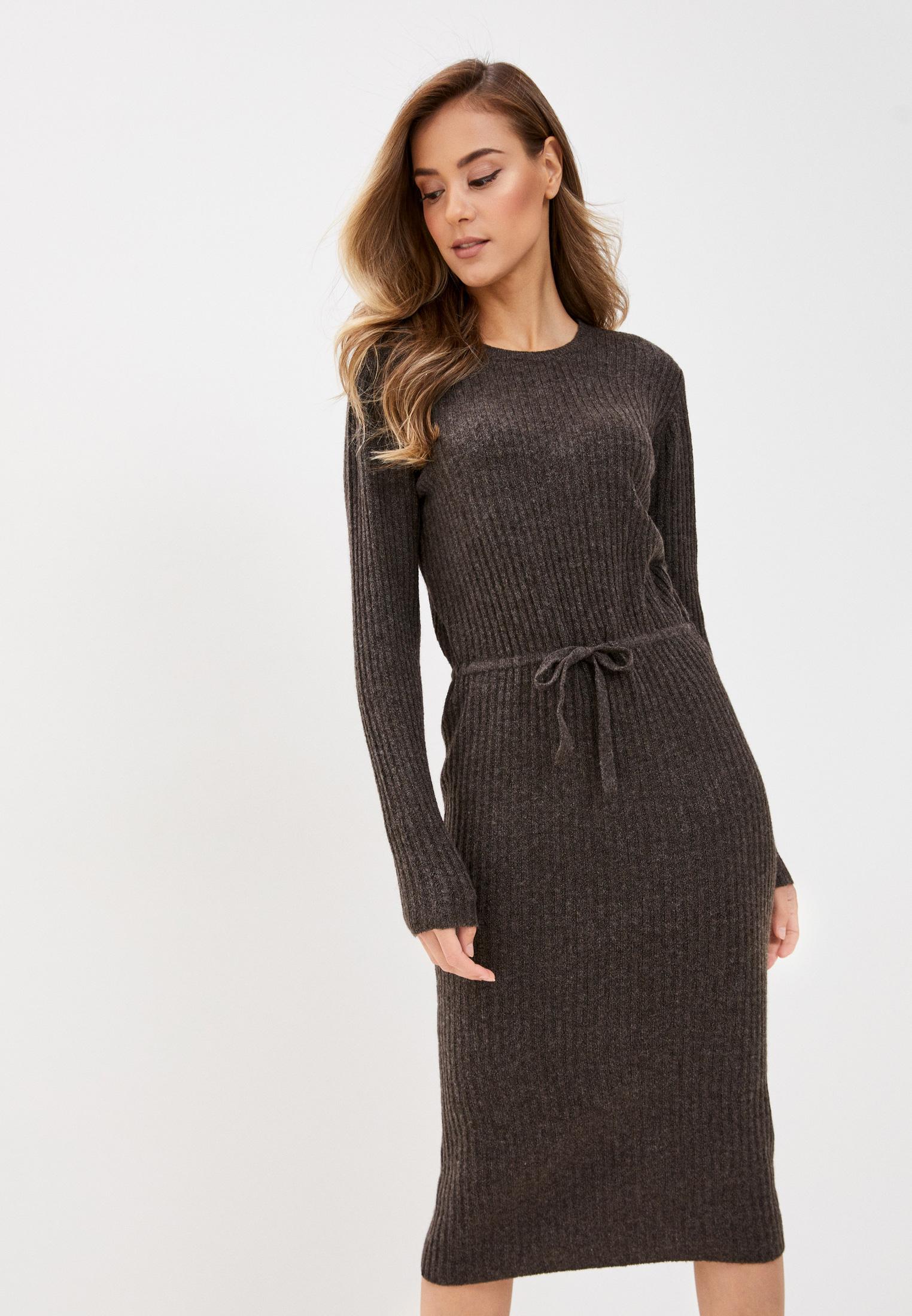 Вязаное платье Pieces 17107262