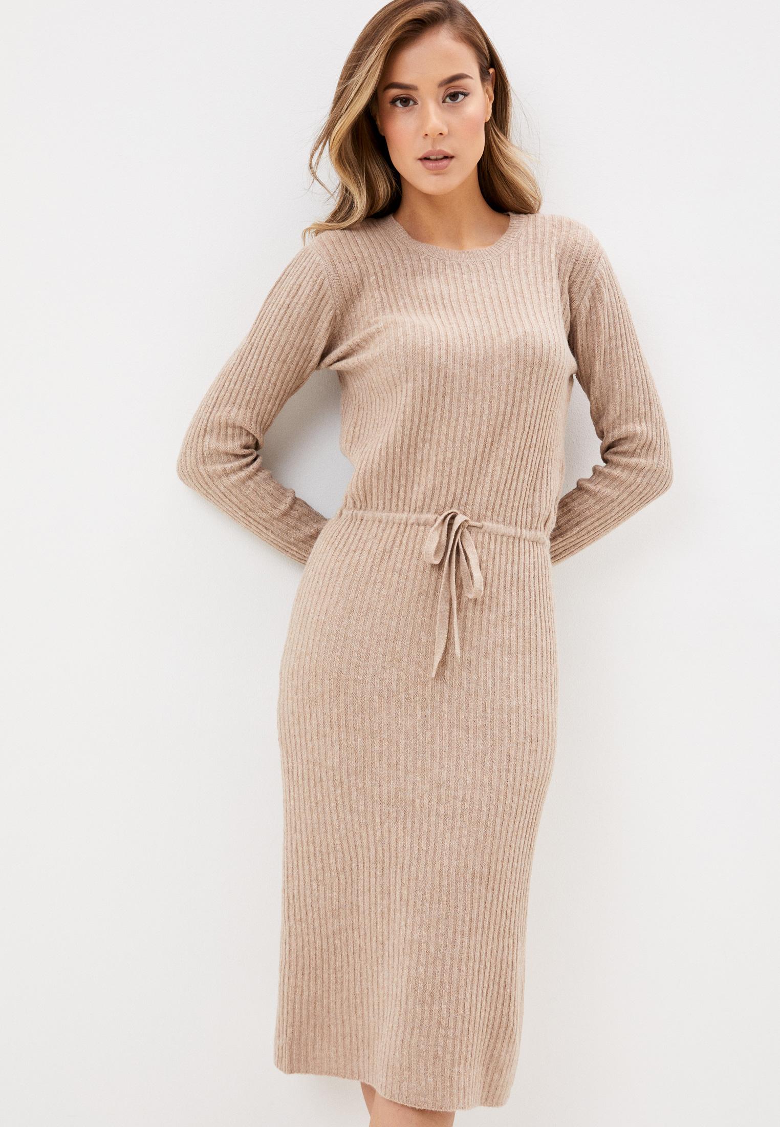 Вязаное платье Pieces 17107262: изображение 1