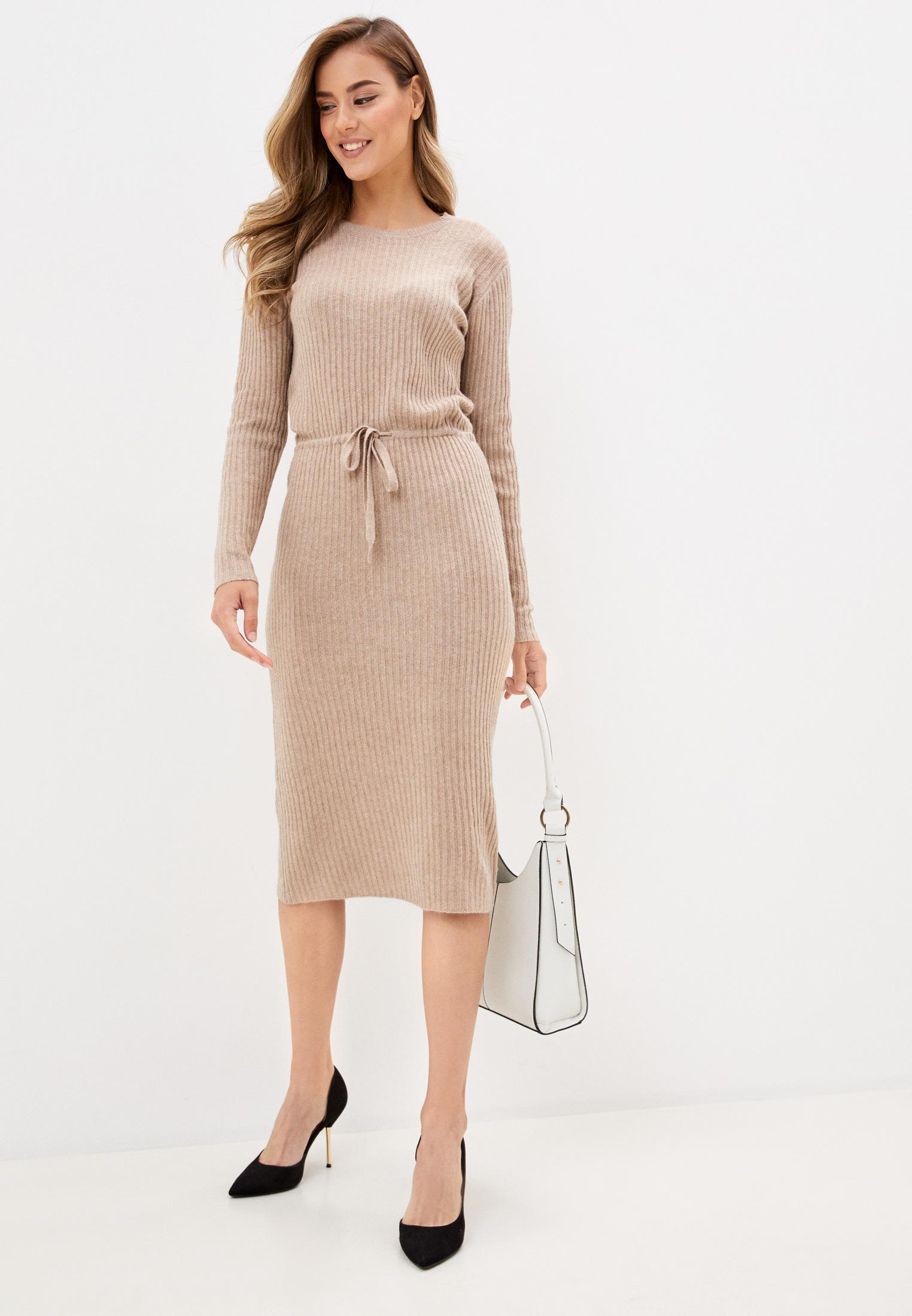 Вязаное платье Pieces 17107262: изображение 2