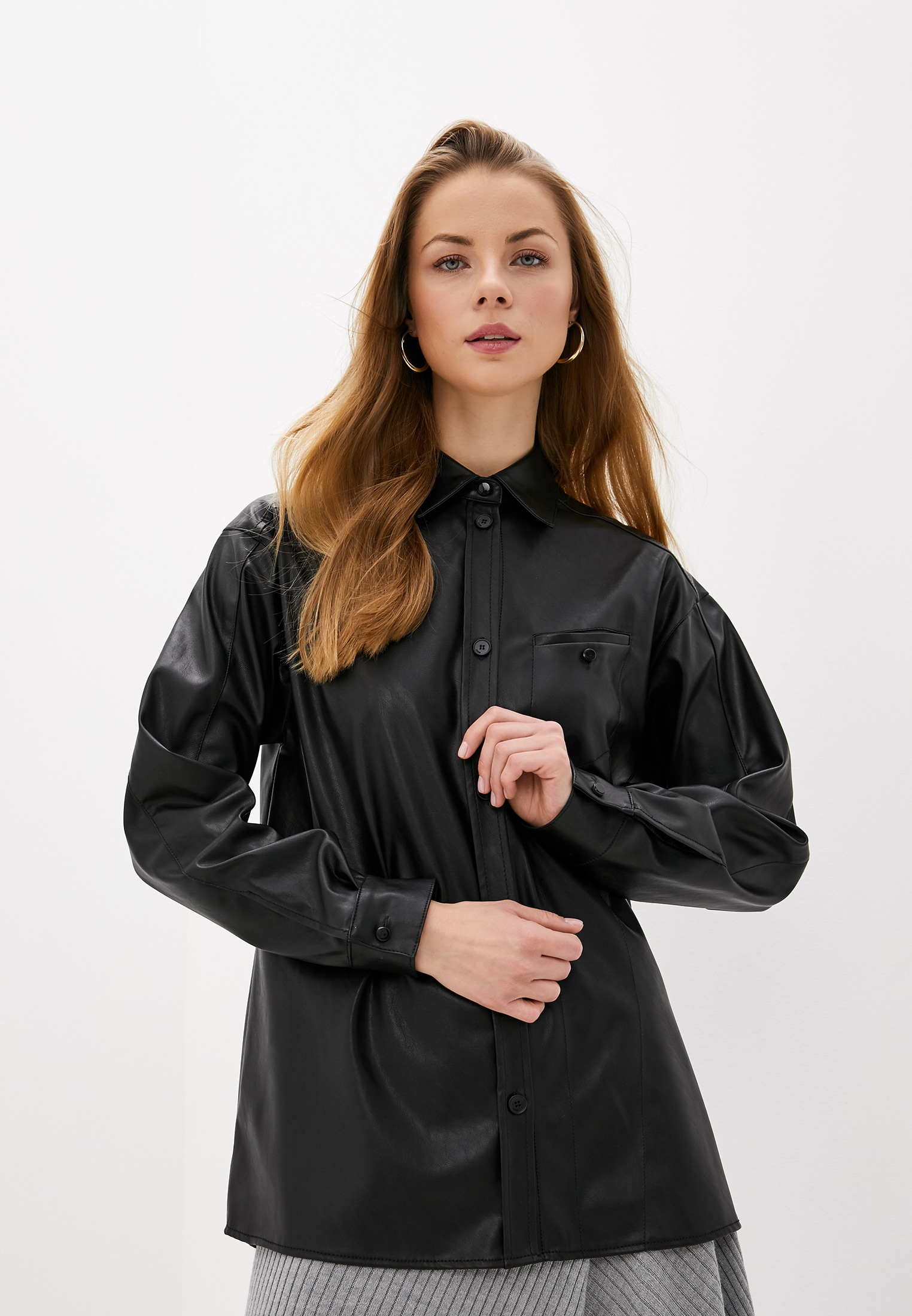 Женские рубашки с длинным рукавом Pinko (Пинко) 1G14EU-7105