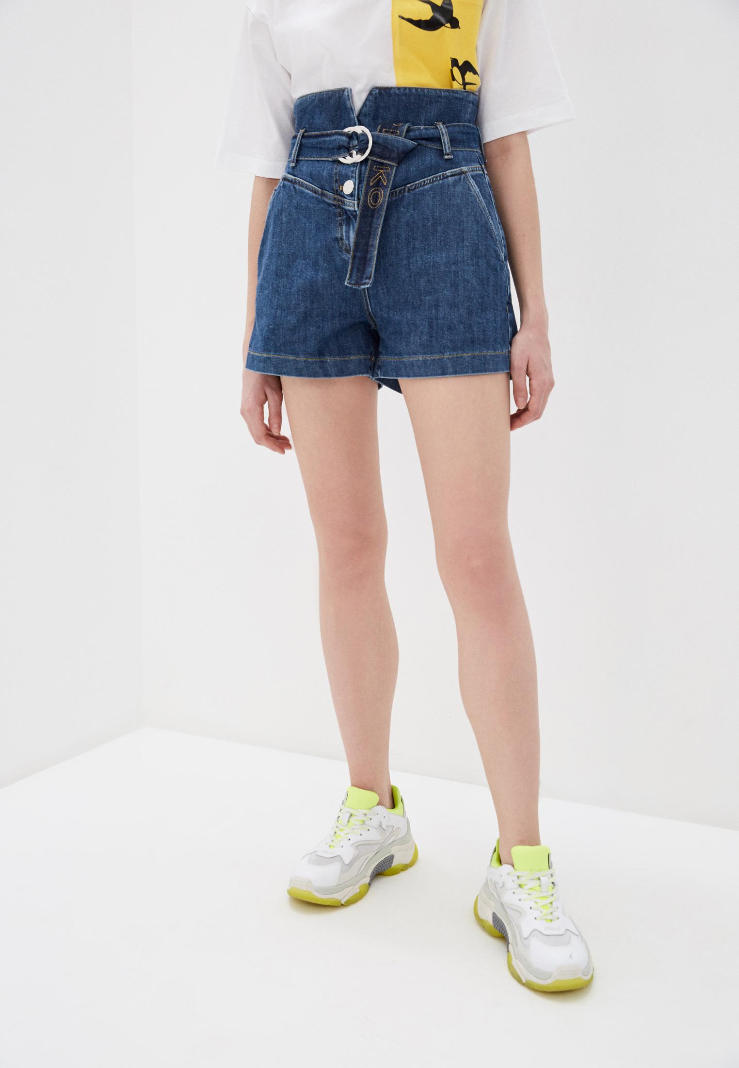 Женские джинсовые шорты Pinko (Пинко) 1J10DJ