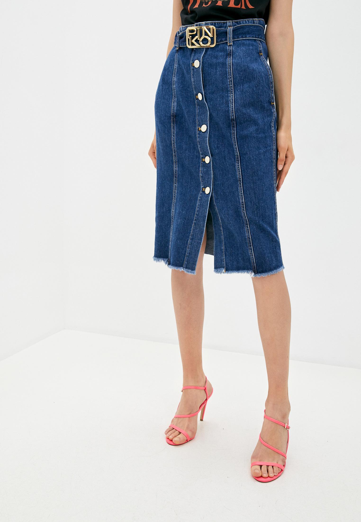 Джинсовая юбка Pinko (Пинко) 1J10HEY649