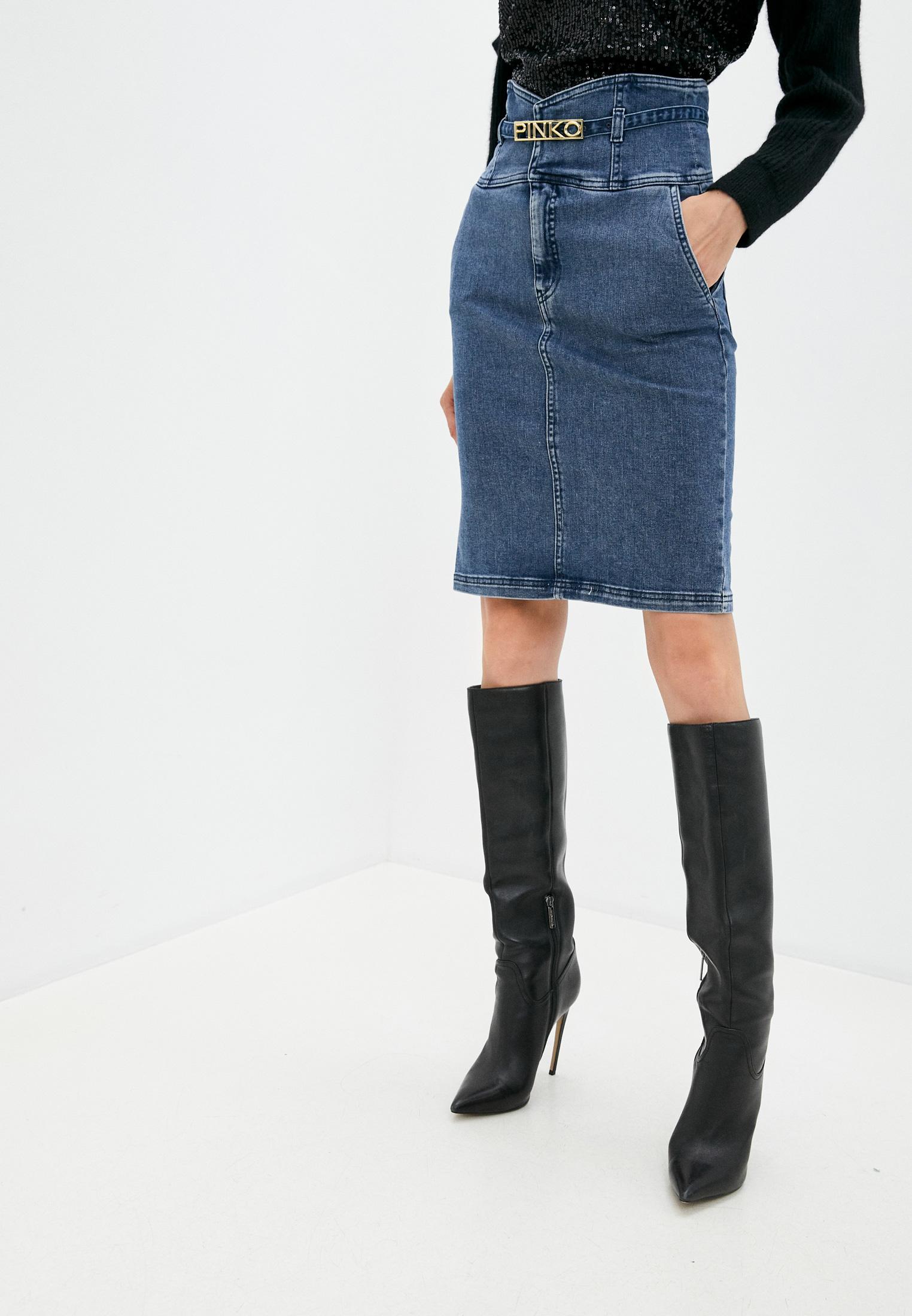 Джинсовая юбка Pinko (Пинко) 1J10J0Y62Q