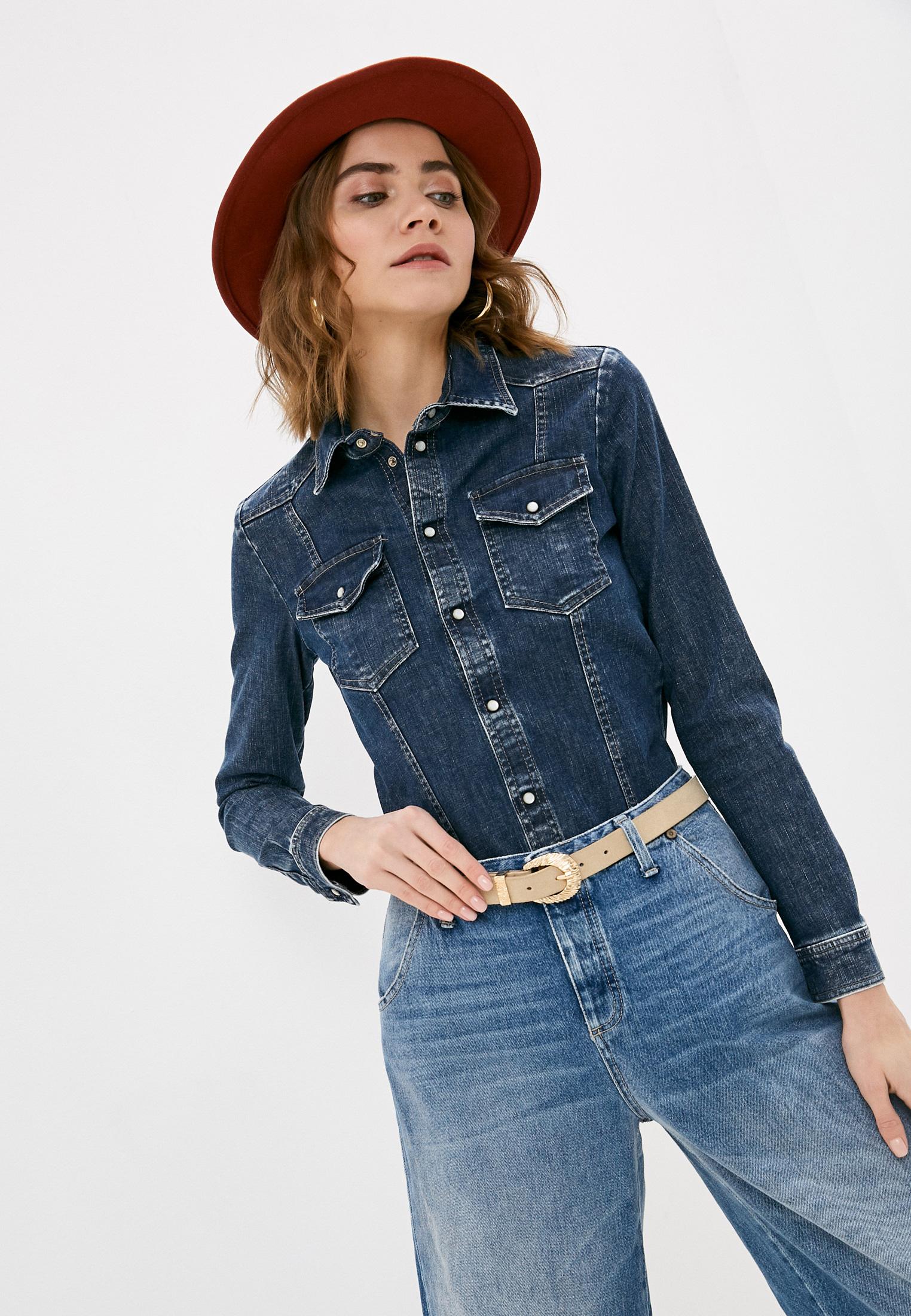 Женские джинсовые рубашки Please Рубашка джинсовая Please