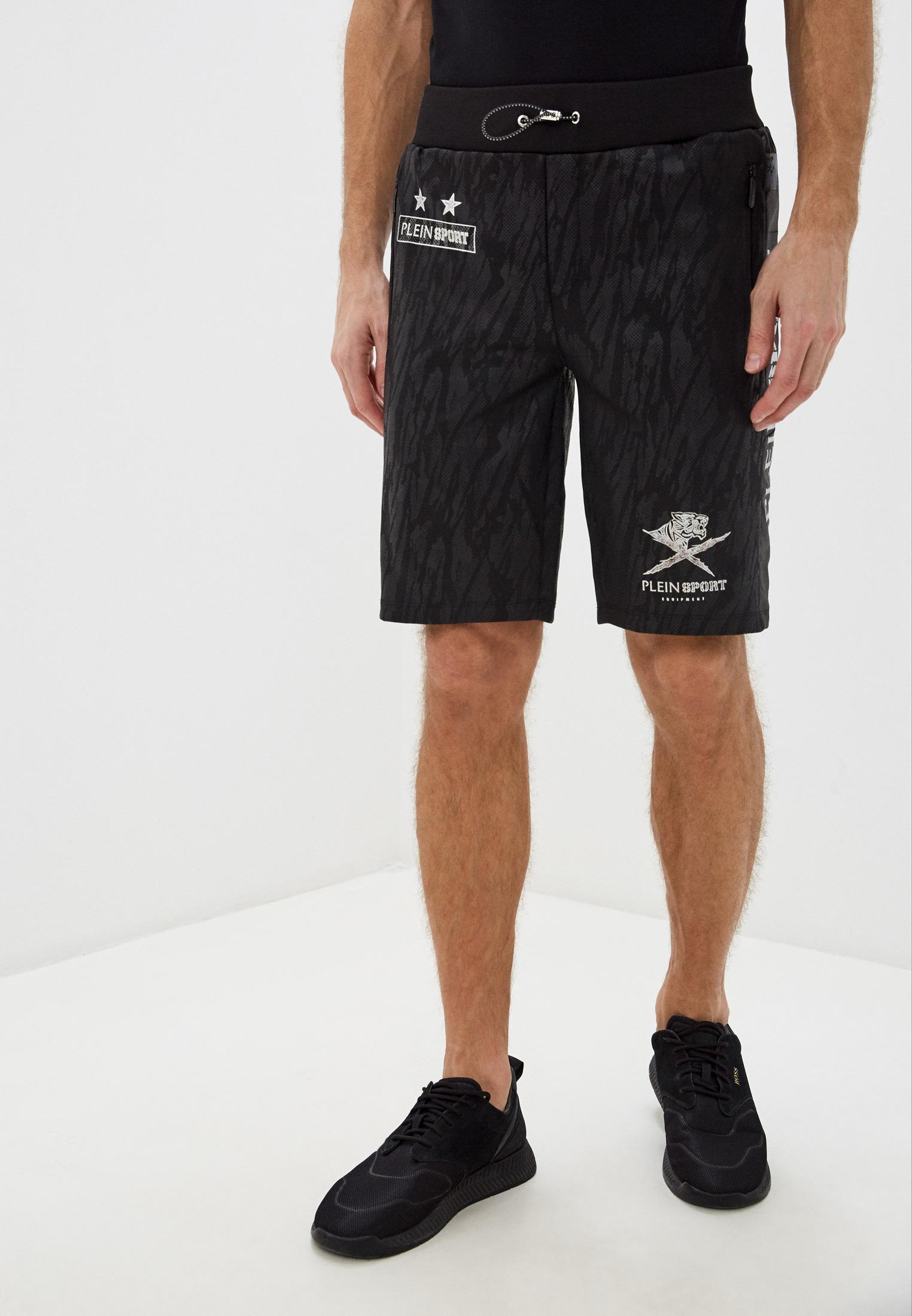 Мужские спортивные шорты Plein Sport A18C MJT0759 SJO001N