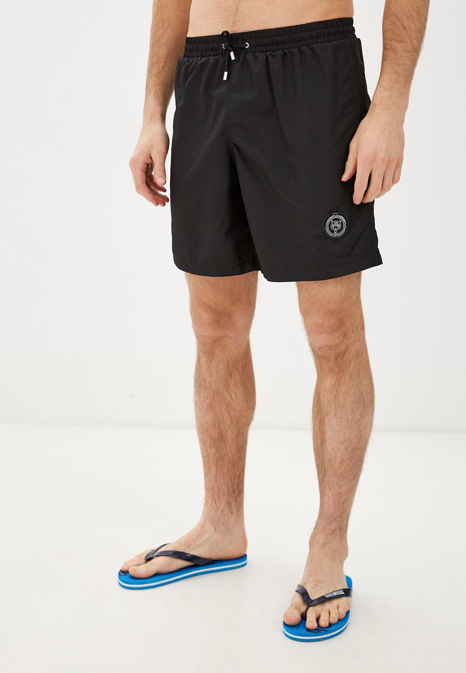 Мужские спортивные шорты Plein Sport A18C MMT0079 SNY001N