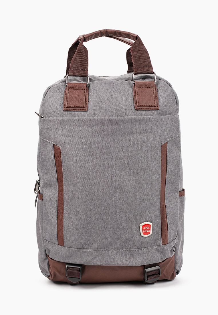 Городской рюкзак Polar 541-13 т.серый