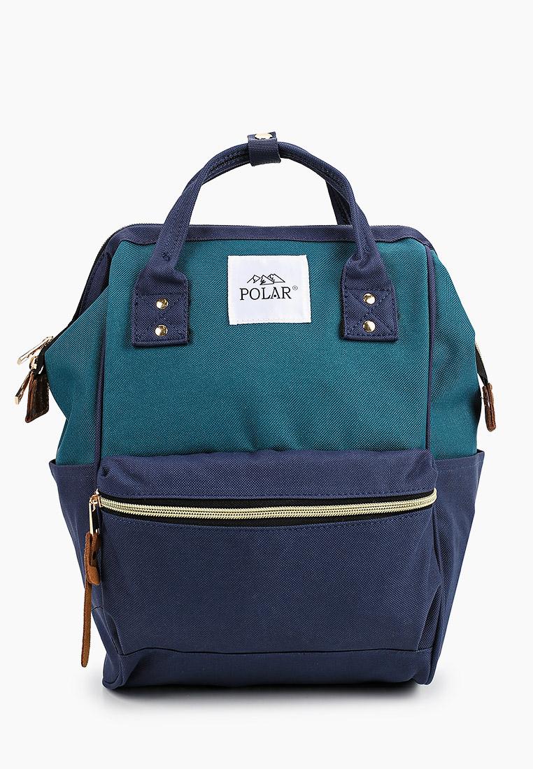Городской рюкзак Polar 17198 Gteen