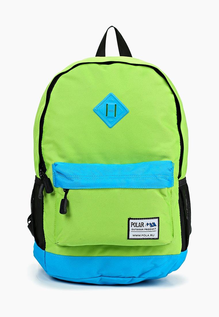 Городской рюкзак Polar 15008 Green-Blue