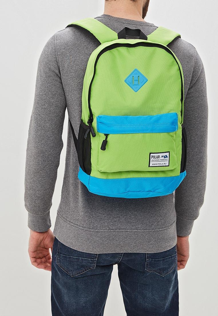 Городской рюкзак Polar 15008 Green-Blue: изображение 4