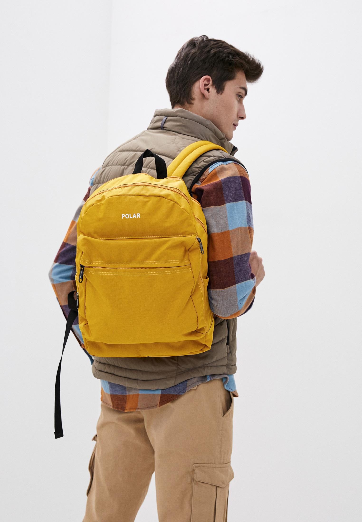 Городской рюкзак Polar 18220 Yellow