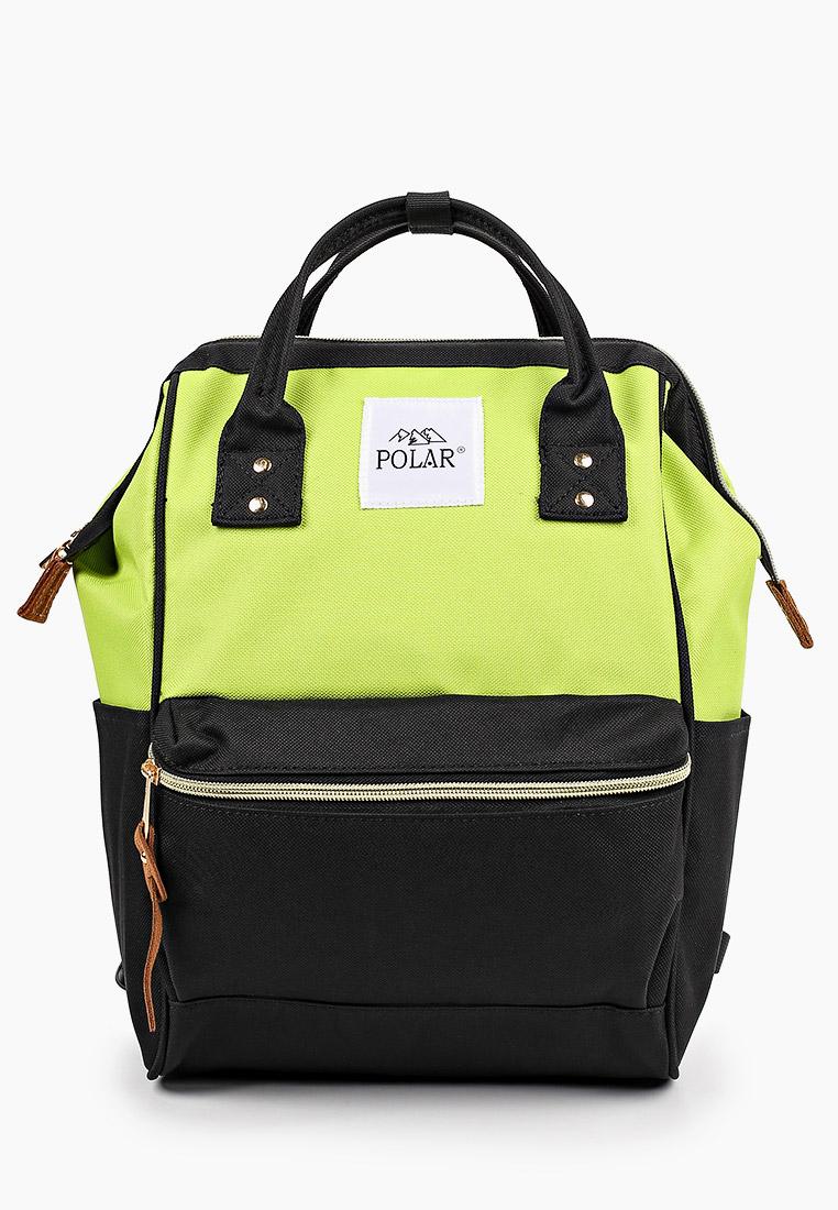 Городской рюкзак Polar 17198 Gteen-Black