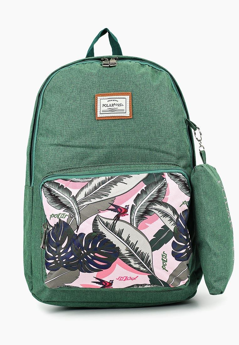 Городской рюкзак Polar П0056-09 Green