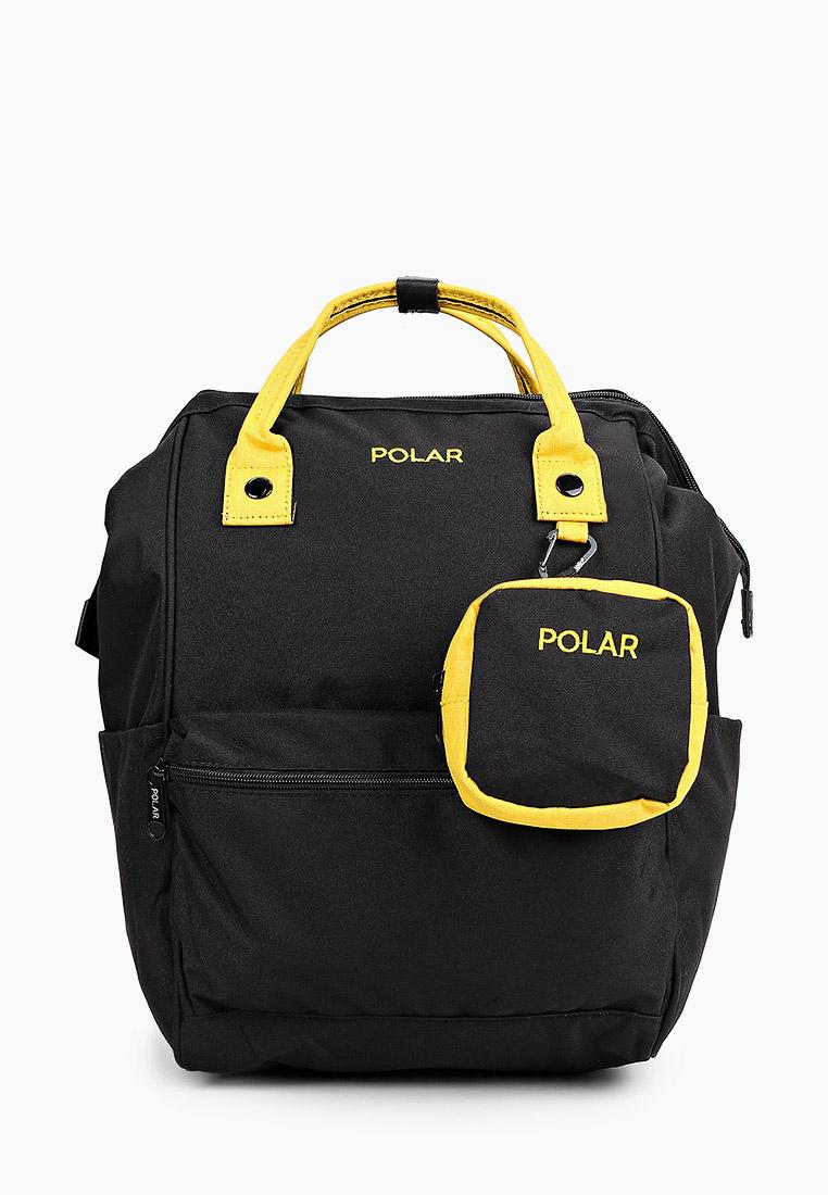 Городской рюкзак Polar 18234 Black/yellow