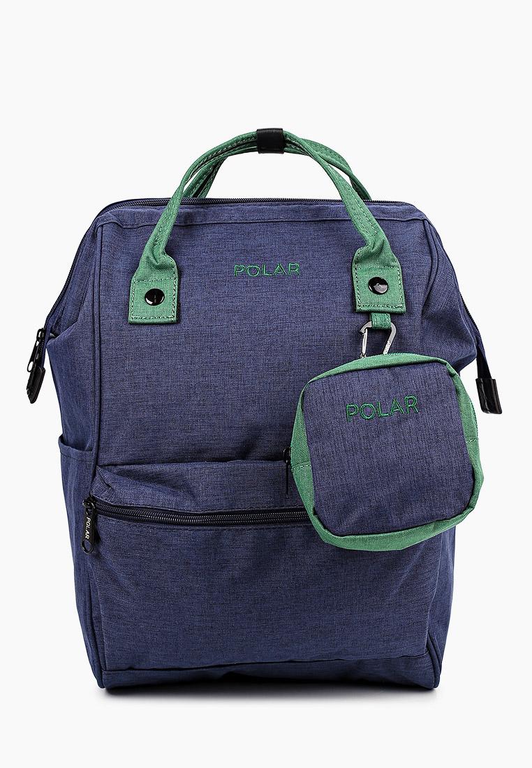 Городской рюкзак Polar 18234 D.Blue/green