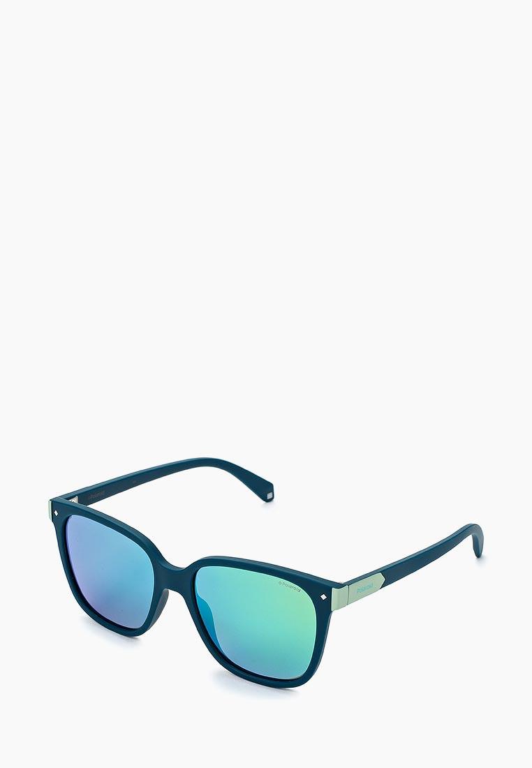 6acdc8f871e7 Женские солнцезащитные очки Polaroid PLD 6036/S цвет бирюзовый ...