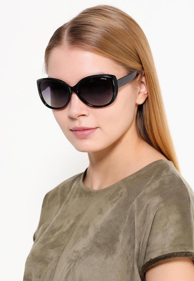 Женские солнцезащитные очки Polaroid PLD 4031 S цвет черный купить ... e66db554d52