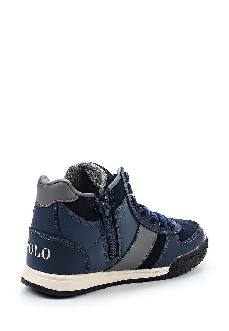 Кеды для мальчиков Polo Ralph Lauren (Поло Ральф Лорен) Speed 67 Mid Zip: изображение 2