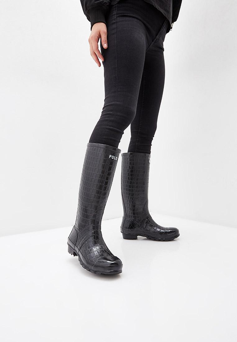 Женские резиновые сапоги Polo Ralph Lauren (Поло Ральф Лорен) 818749185001: изображение 6
