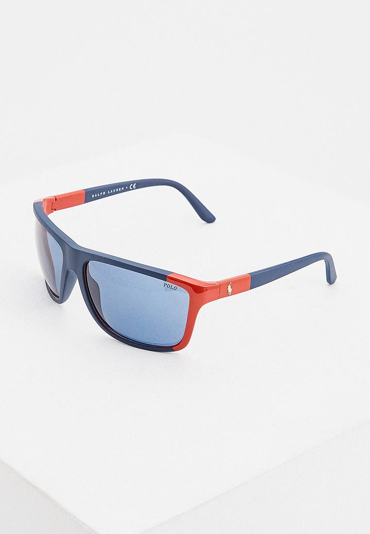 Мужские солнцезащитные очки Polo Ralph Lauren (Поло Ральф Лорен) 0PH4155
