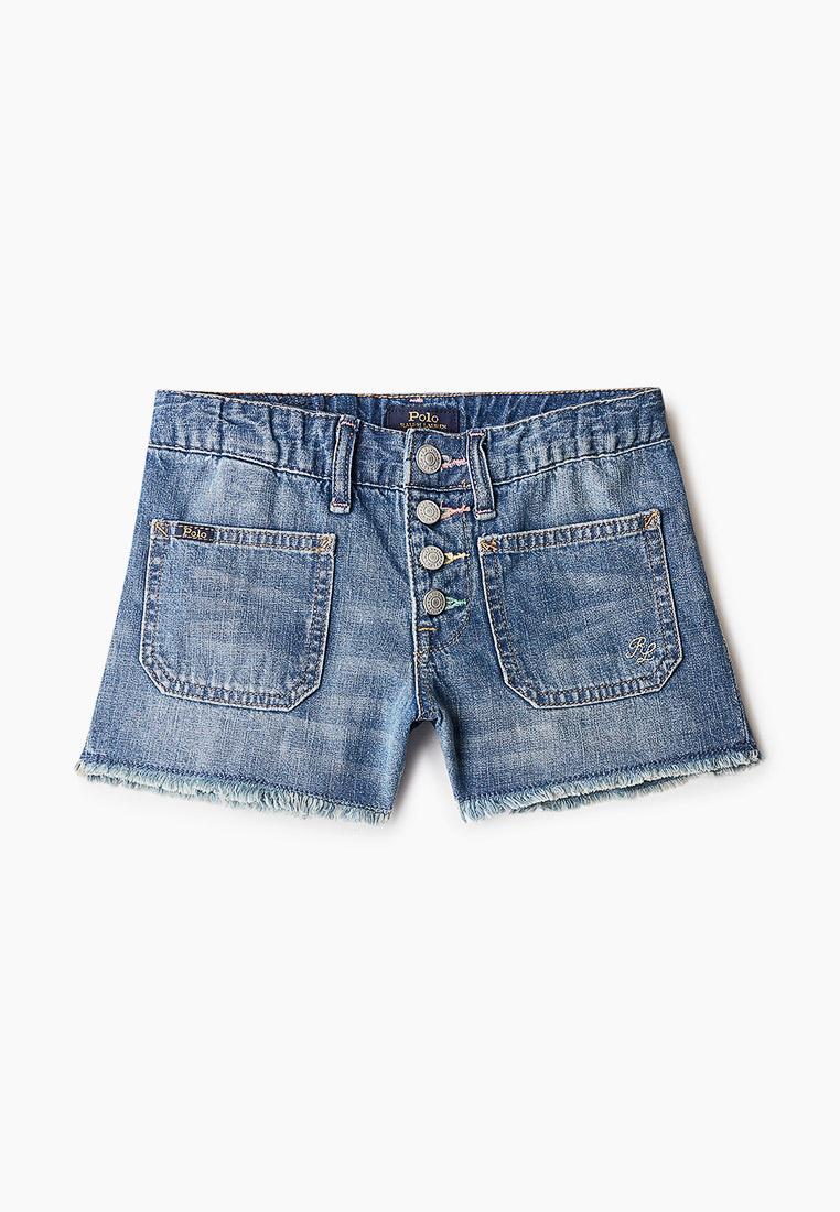 Шорты для девочек Polo Ralph Lauren (Поло Ральф Лорен) Шорты джинсовые Polo Ralph Lauren