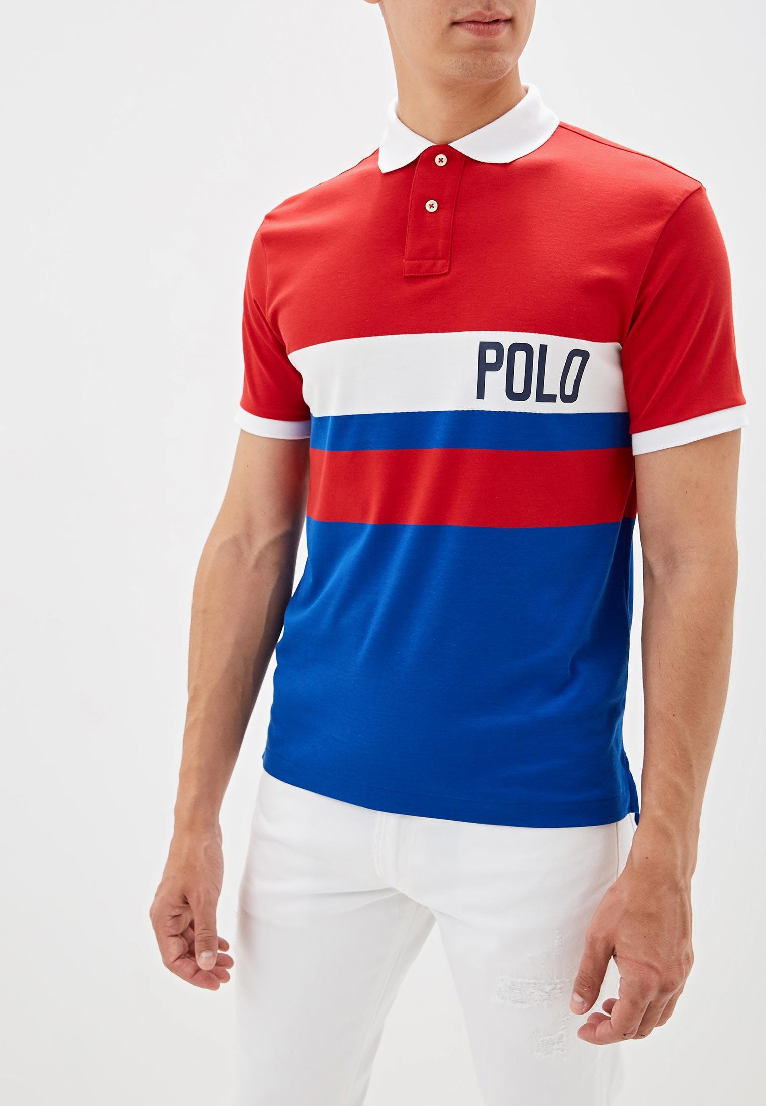 Мужские поло Polo Ralph Lauren (Поло Ральф Лорен) 710746454002