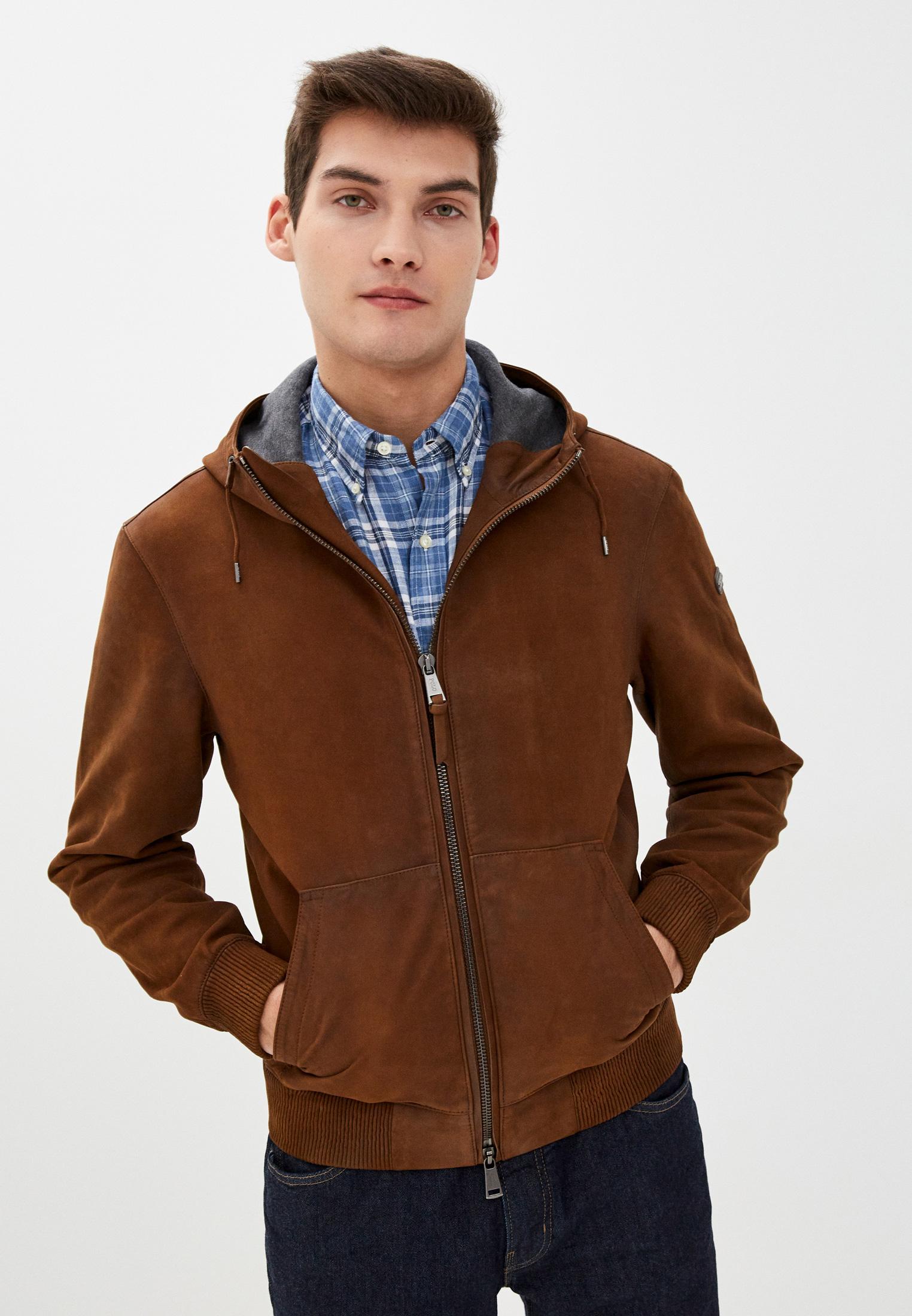 Кожаная куртка Polo Ralph Lauren (Поло Ральф Лорен) 710786675001