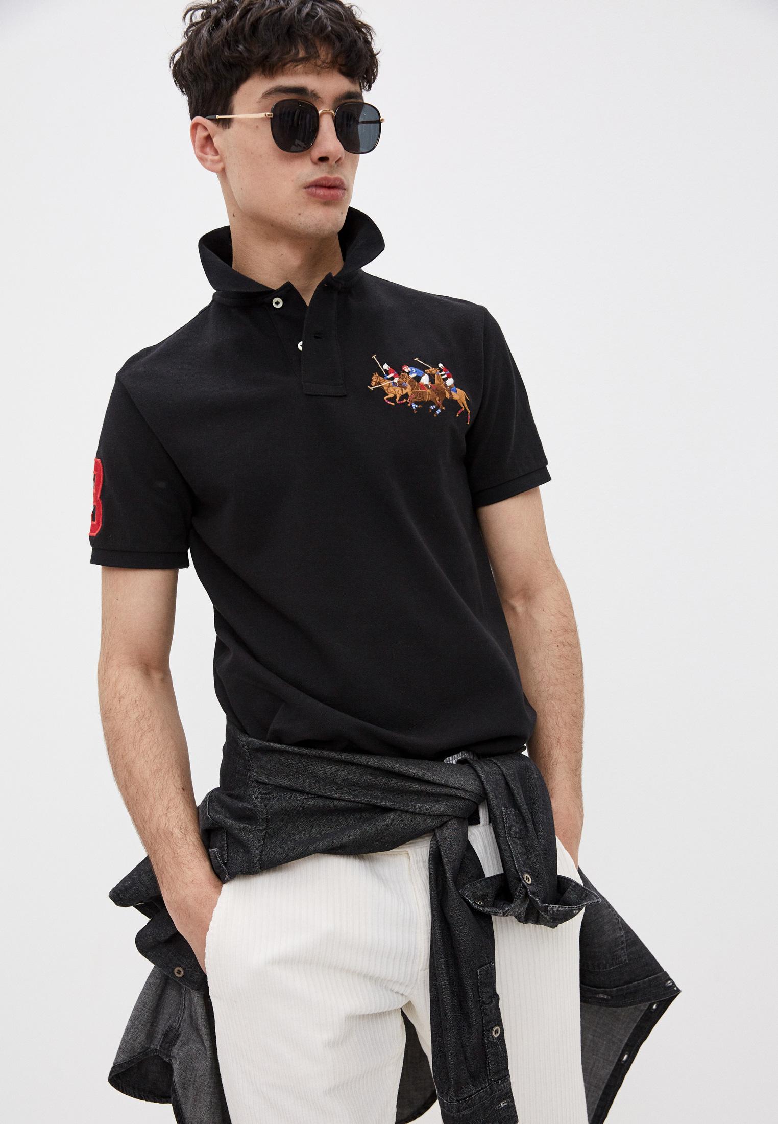 Мужские поло Polo Ralph Lauren (Поло Ральф Лорен) 710814437001